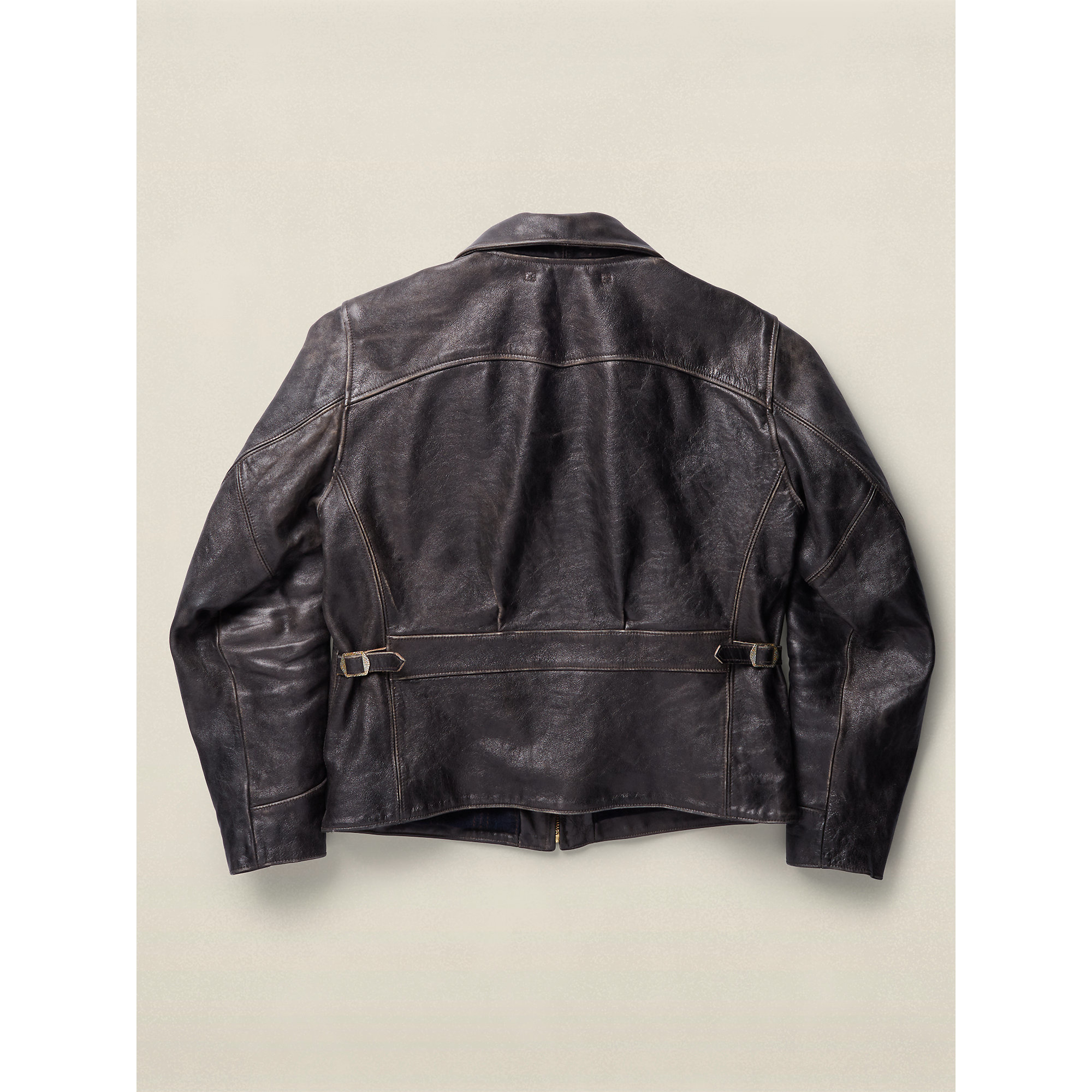 Rrl leather jacket