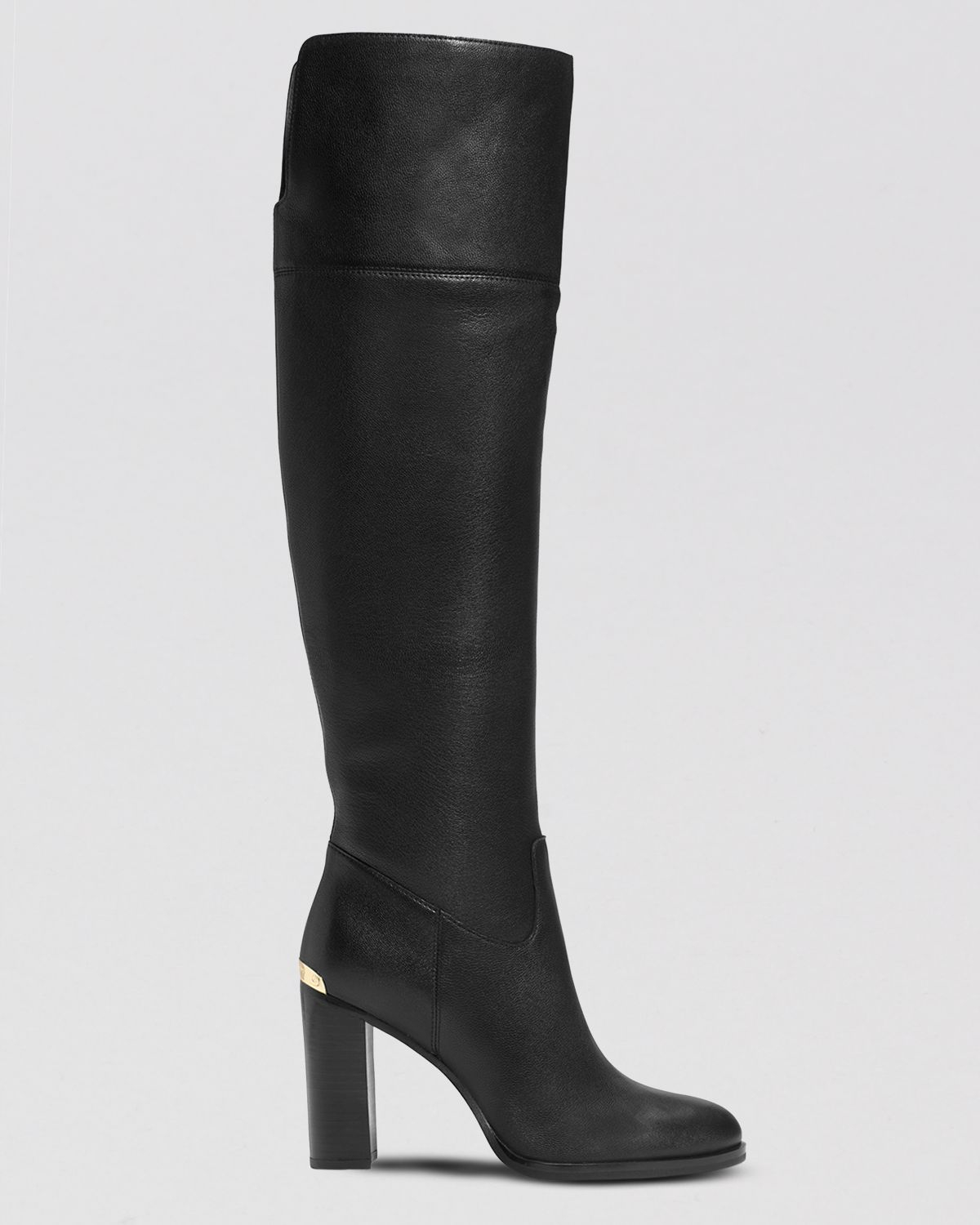 Michael michael kors Over The Knee Boots - Regina in Black | Lyst