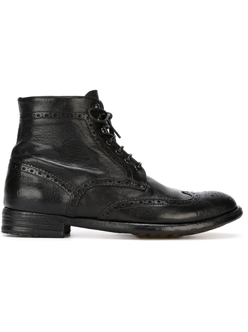 Original Officine Creative U0026#39;godardu0026#39; Boots In Black   Lyst