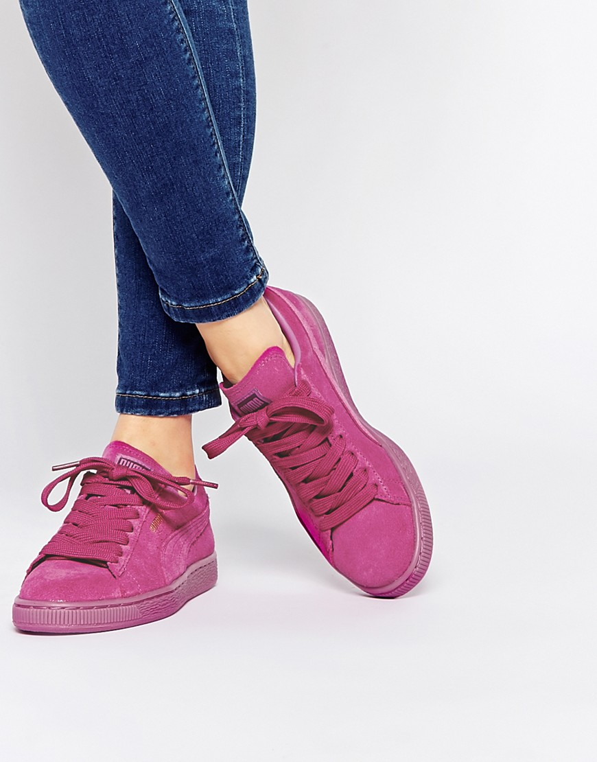 Suede Sneakers Lyst Iced In Xxqnrzp7r Pink Mono Classic Puma PuTXZOkwi