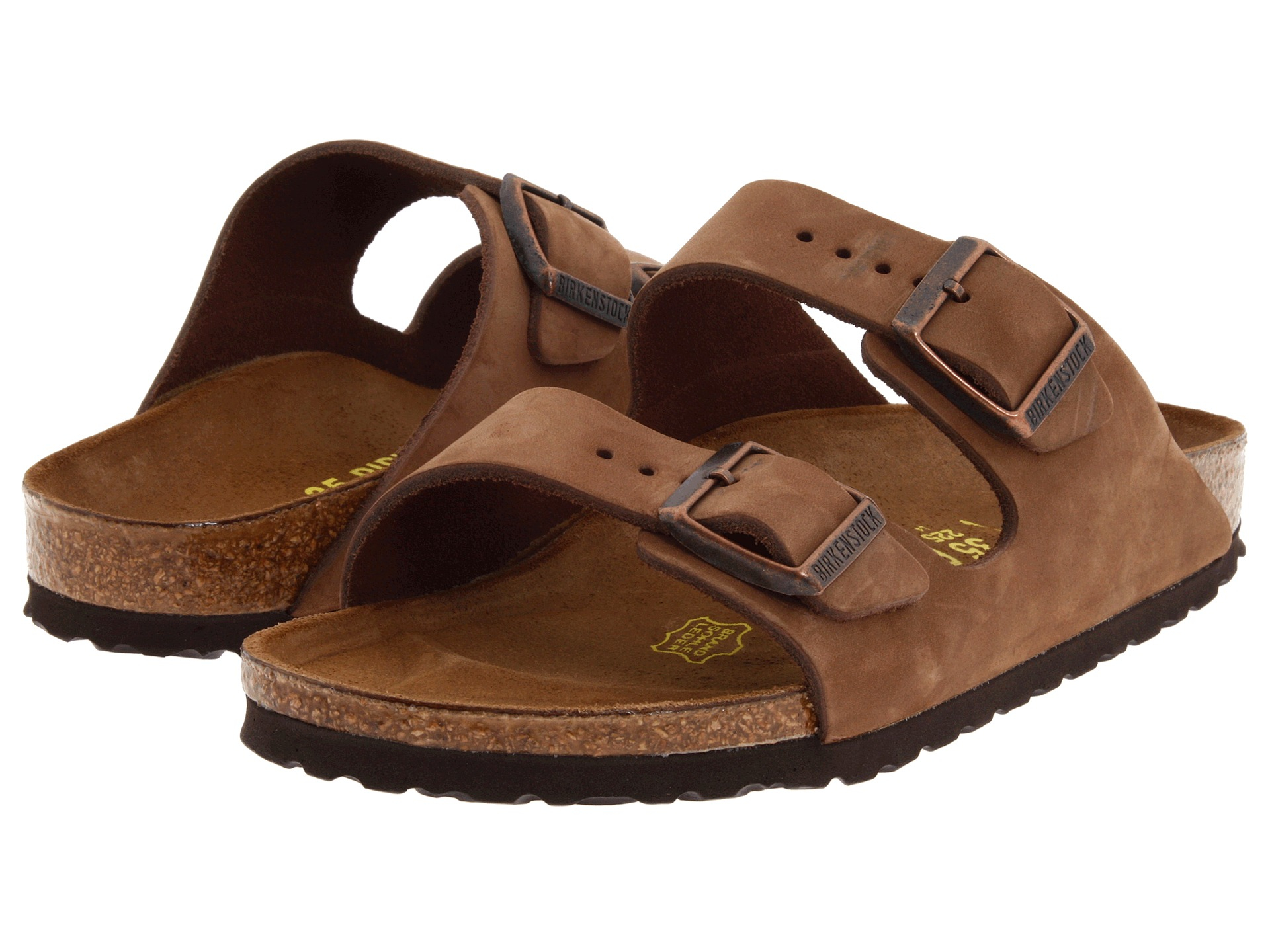 65d78761237e Lyst - Birkenstock Arizona - Nubuck (unisex) in Brown