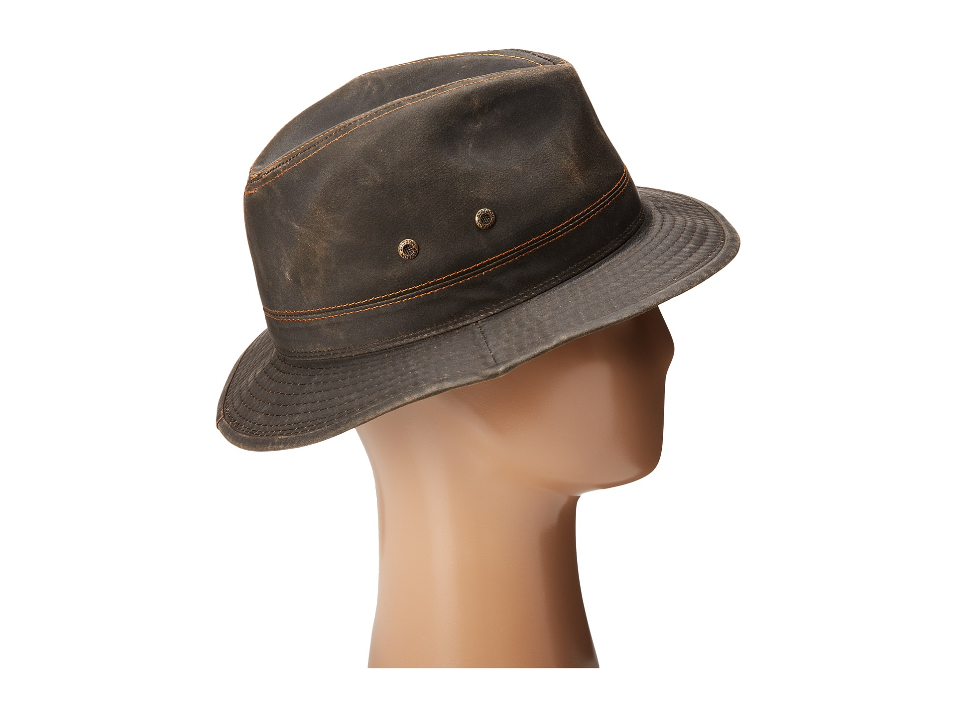 6da9ad94f20a45 Stetson Weathered Cotton Wilson in Brown for Men - Lyst