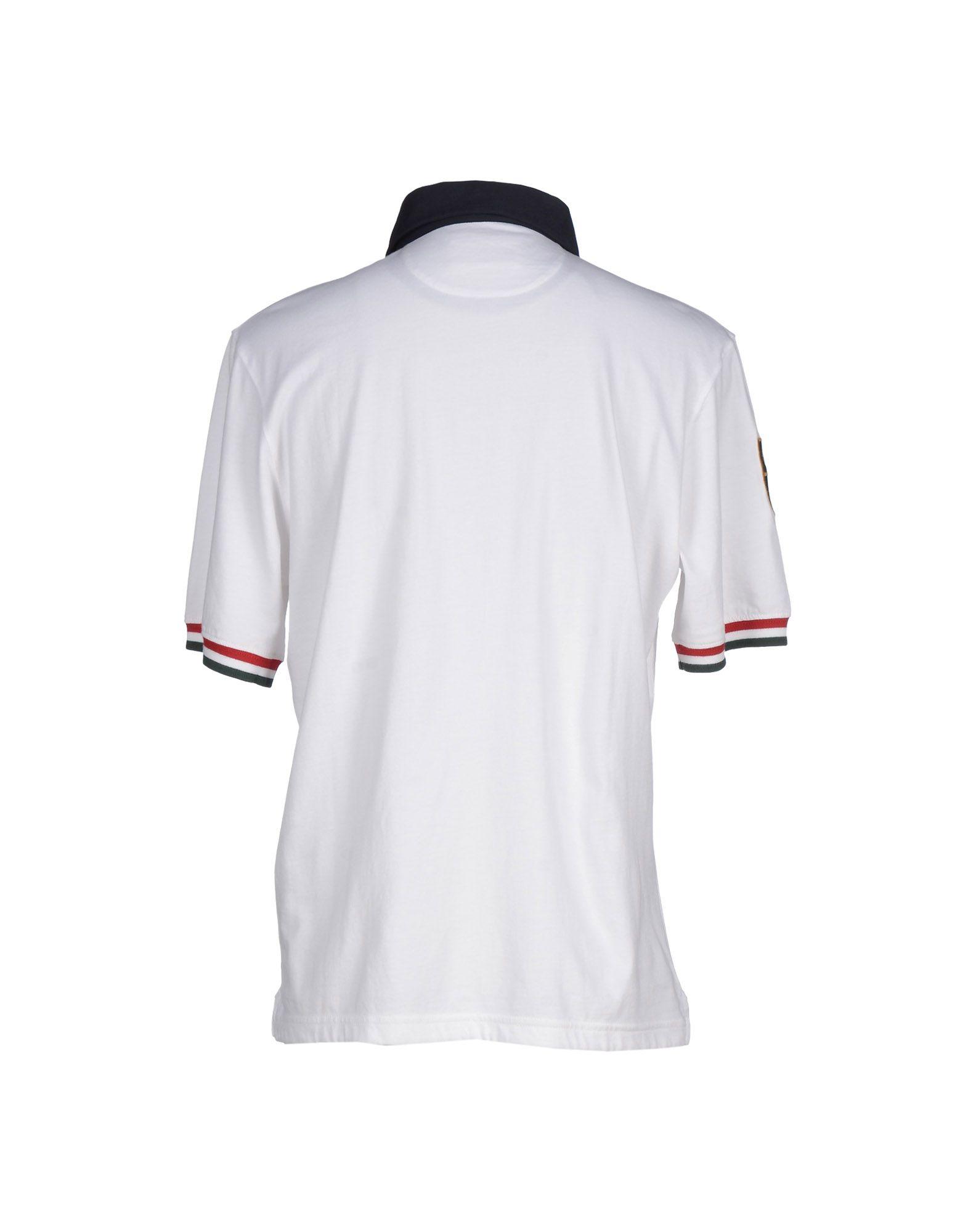 Lyst Eden Park Polo Shirt In White For Men