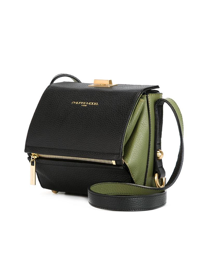 Philippe Model Madeleine Crossbody Bag In Black Lyst