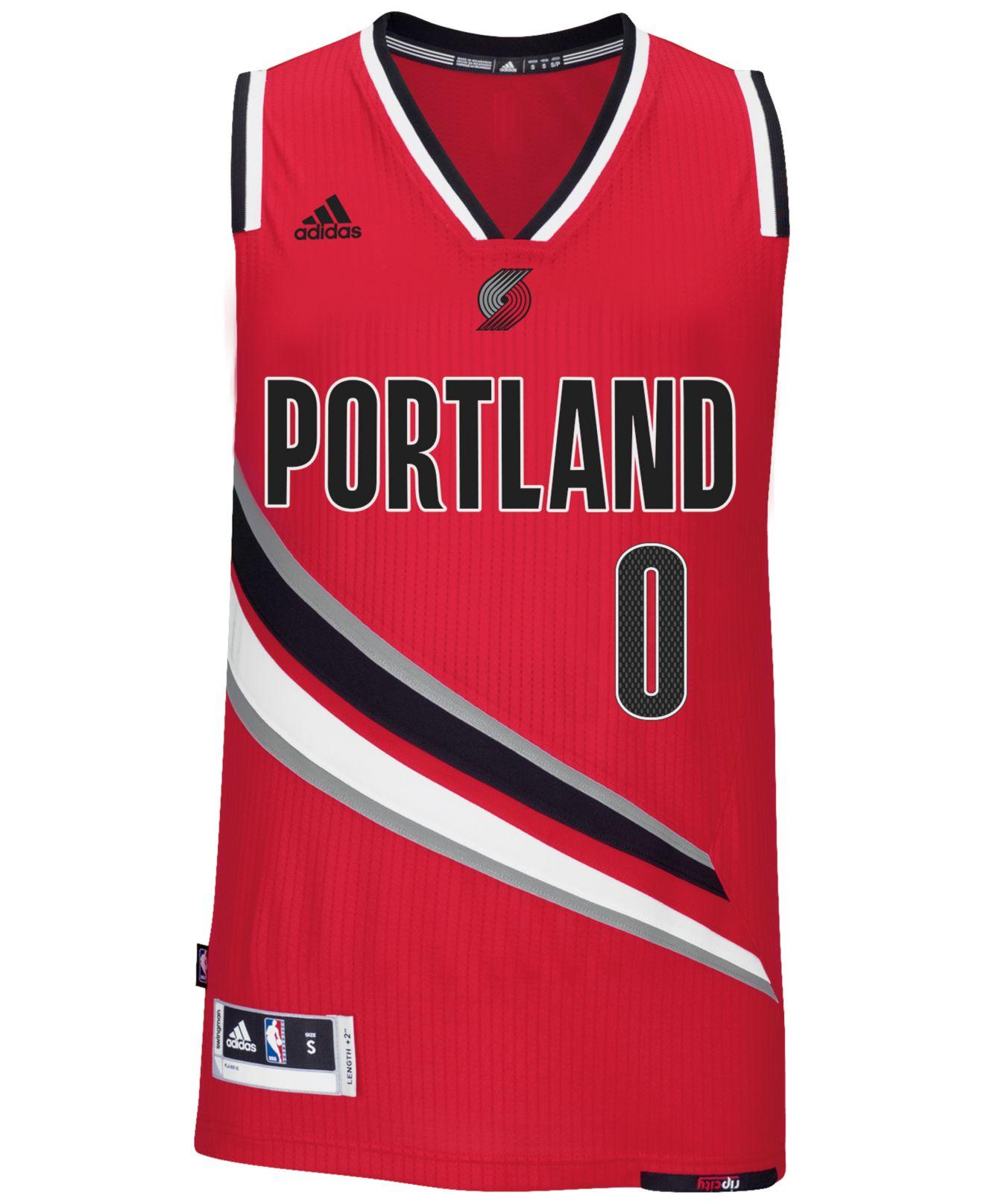 Portland Blkazer: Adidas Originals Men's Damian Lillard Portland