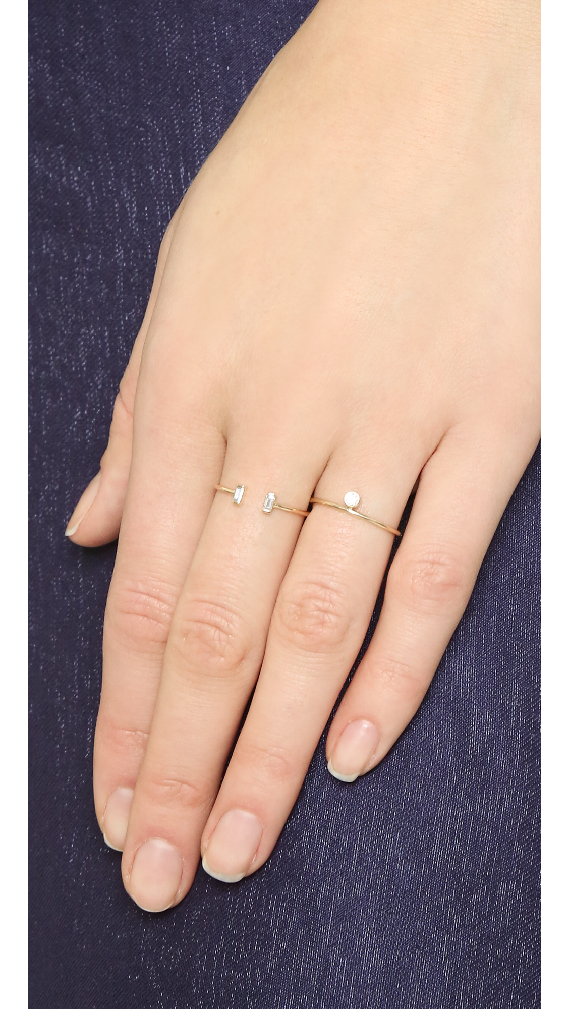 sento ring shoulders yellow silver with centre surround plain cz gold product thin rings ti