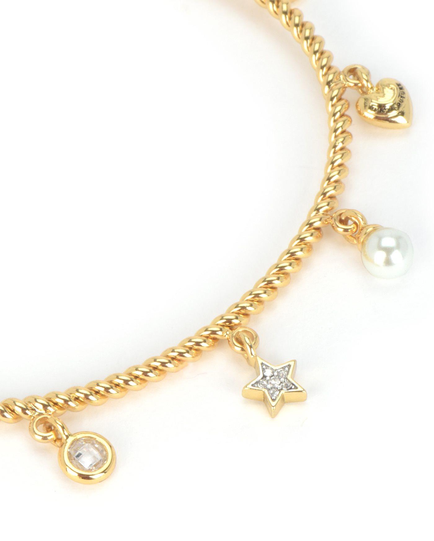 Juicy Couture Gold Charm Bracelets Design Ideas