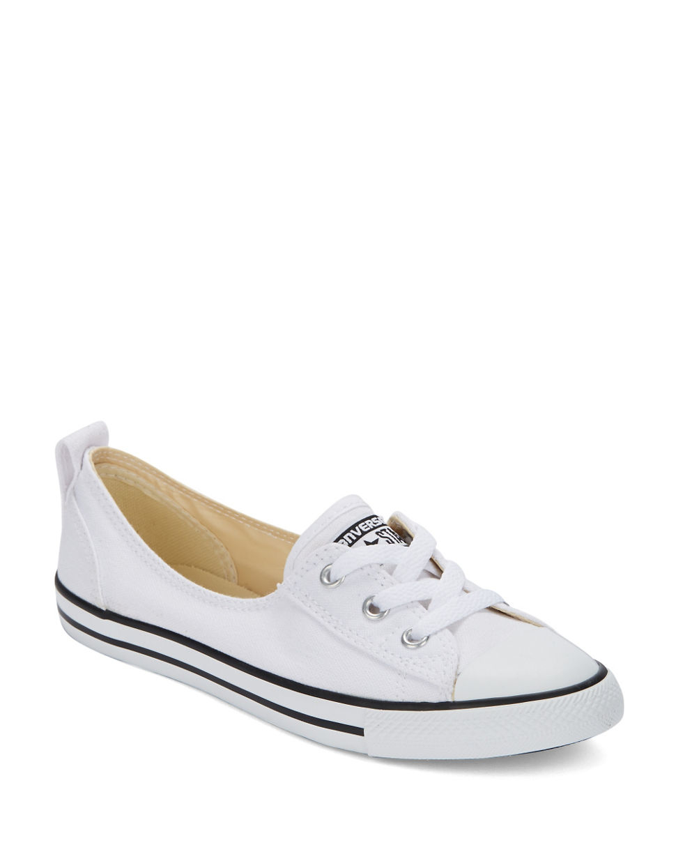 c9070c1ba85 Up Up White In Sneakers Lyst Lace Ballet Ballet Converse FnPgt