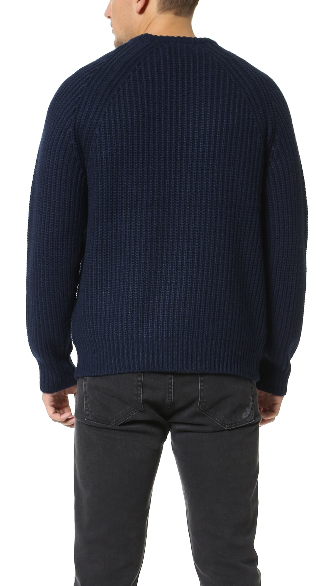 Obey Mitte Sweater in Blue for Men | Lyst