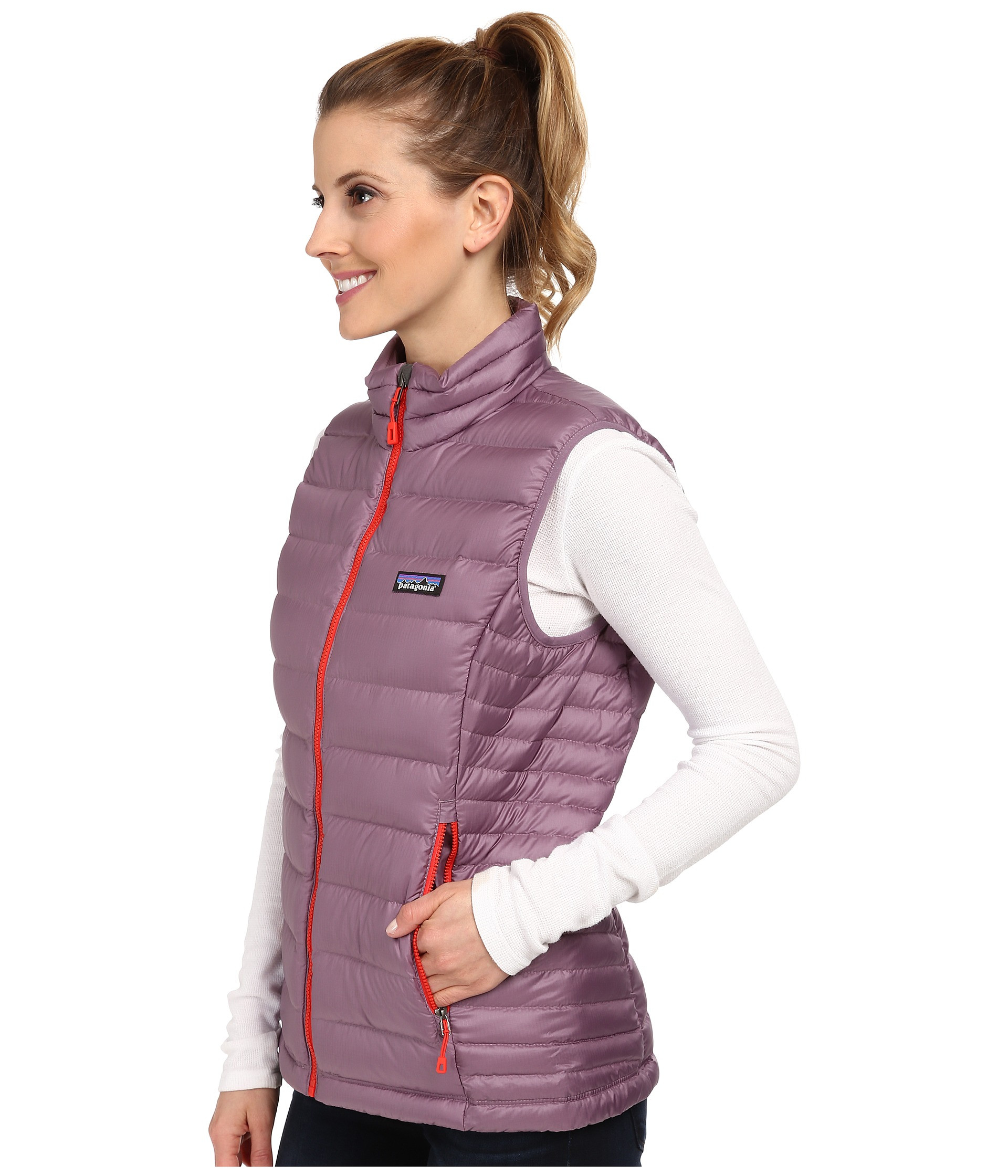 8b43d95c0 Patagonia Purple Down Sweater Vest