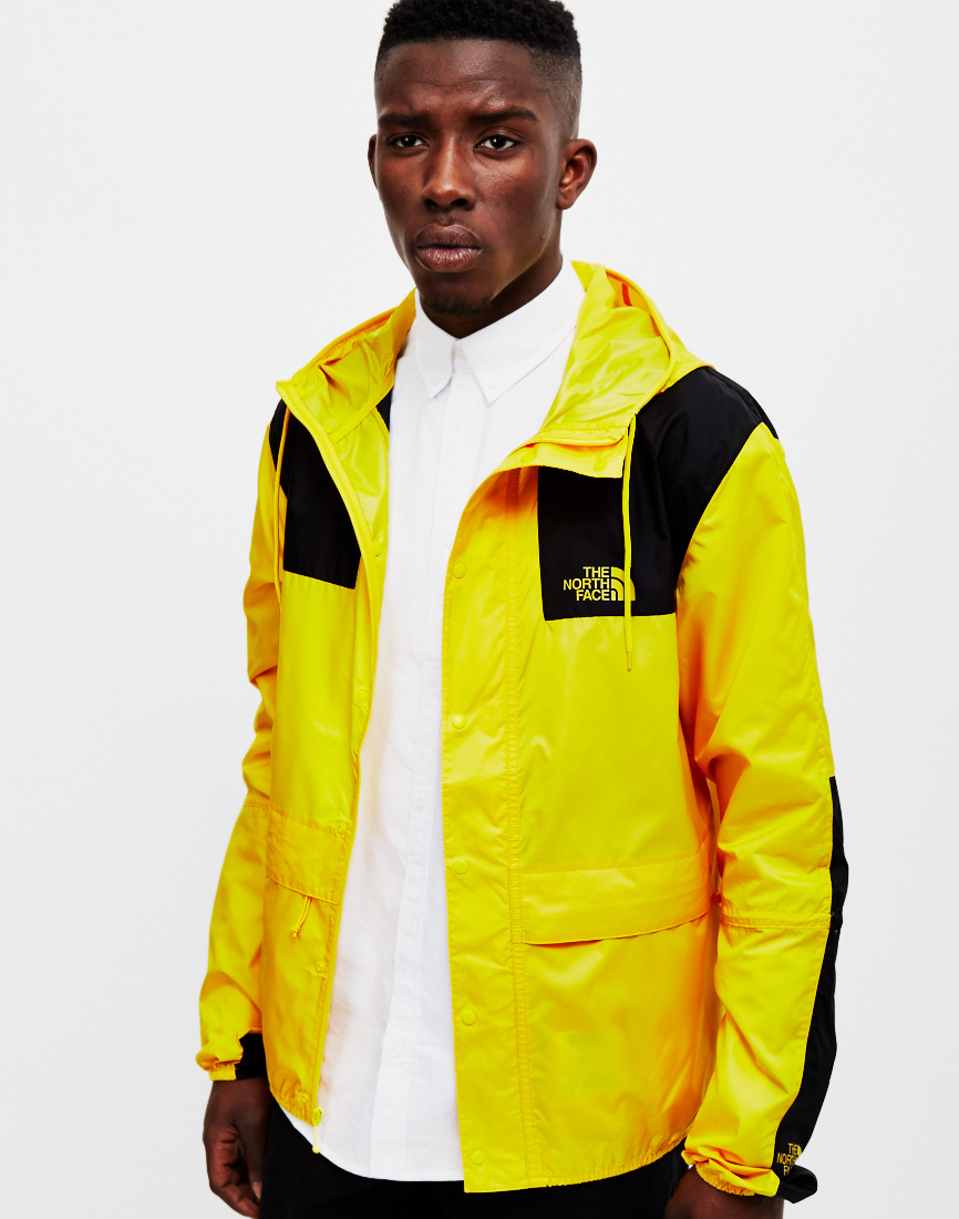8cf29dbb6e official store north face jacket yellow and black 48ad2 1d8f7