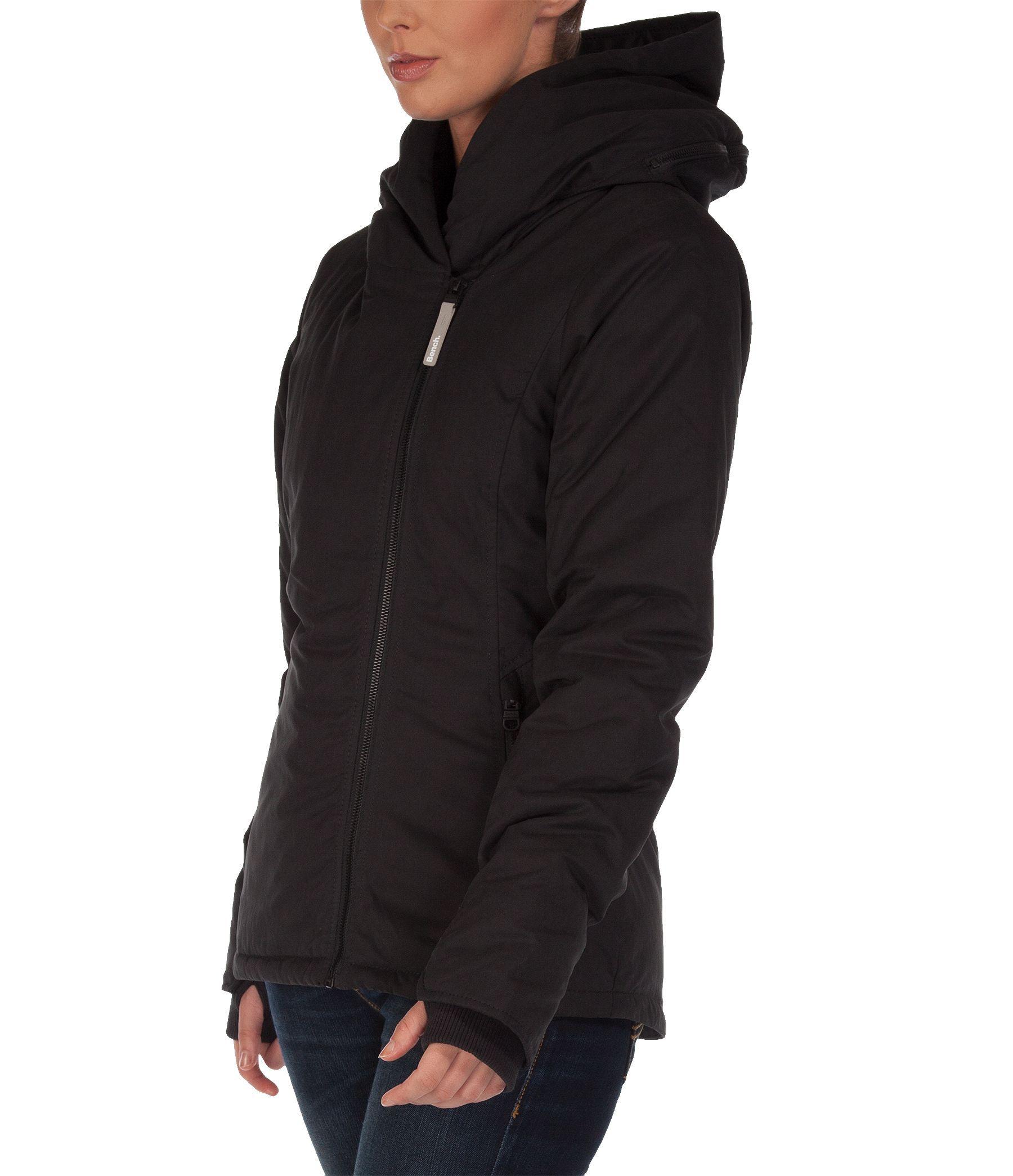 Bench bonspeil jacket in black lyst Bench jacket
