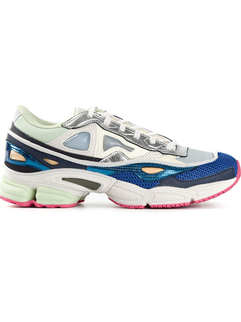 adidas by raf simons ozweego sneakers in blue for men lyst. Black Bedroom Furniture Sets. Home Design Ideas