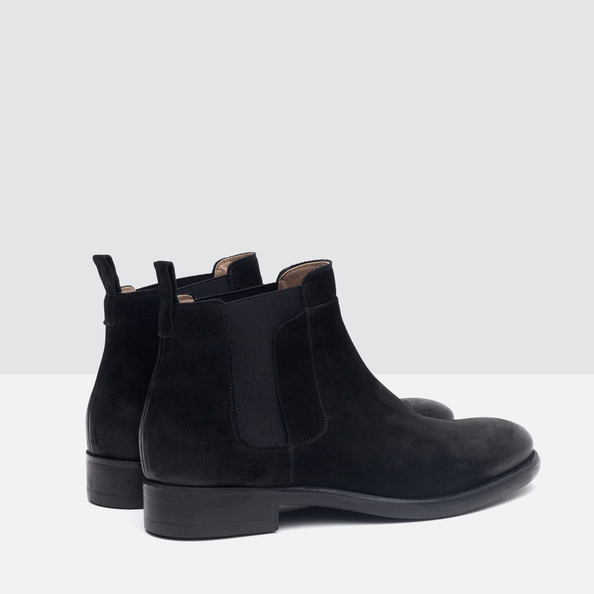 Zara Mens Suede Shoes