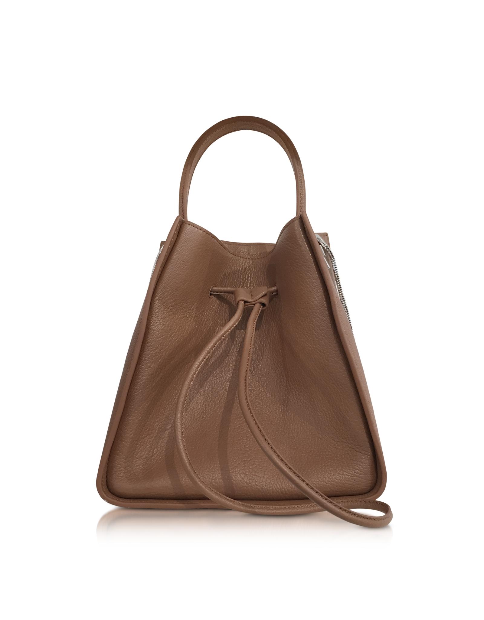 3 1 Phillip Lim Cuoio Soleil Small Bucket Drawstring Bag