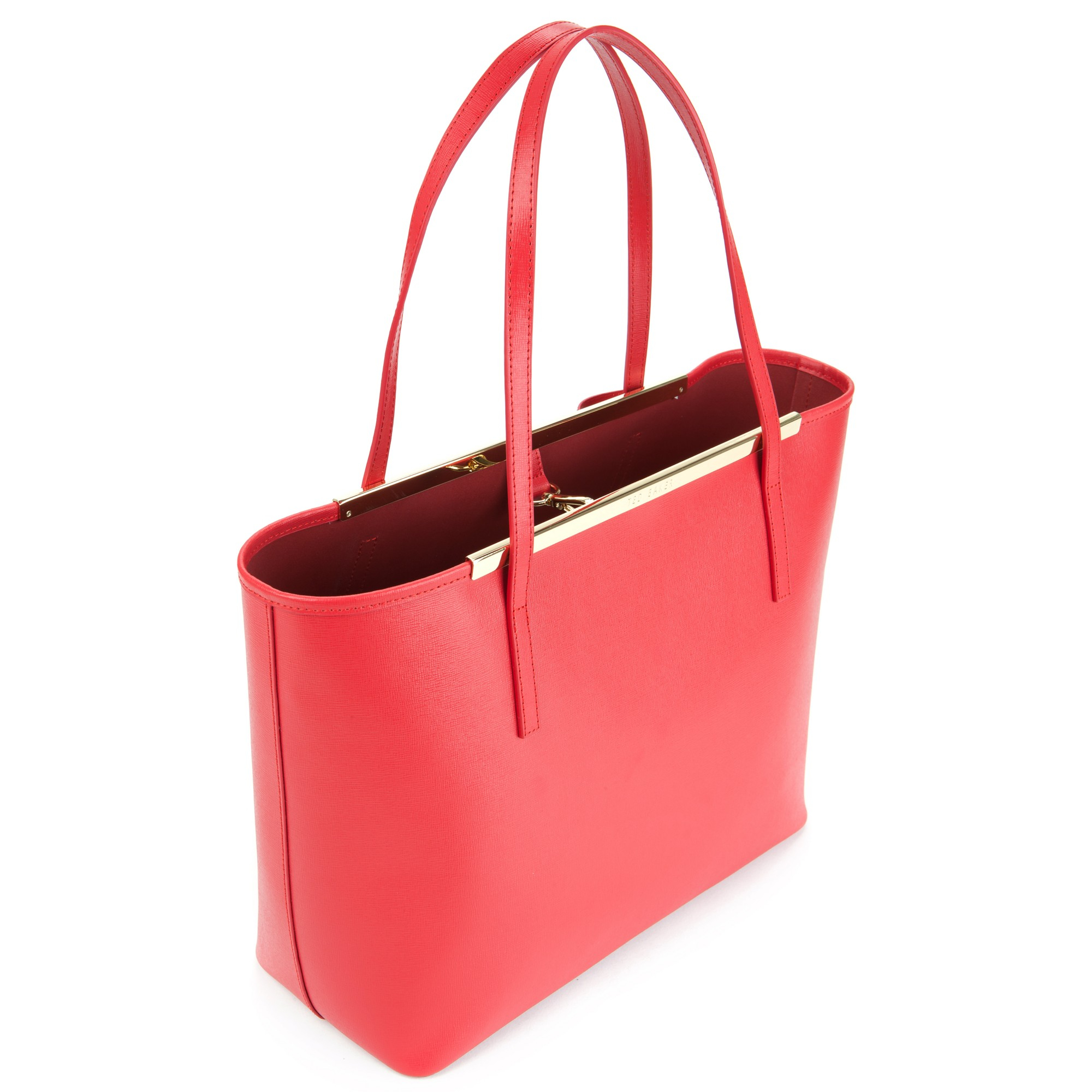 bd053be1d Ted Baker Lilley Small Crosshatch Per Bag In Red Lyst