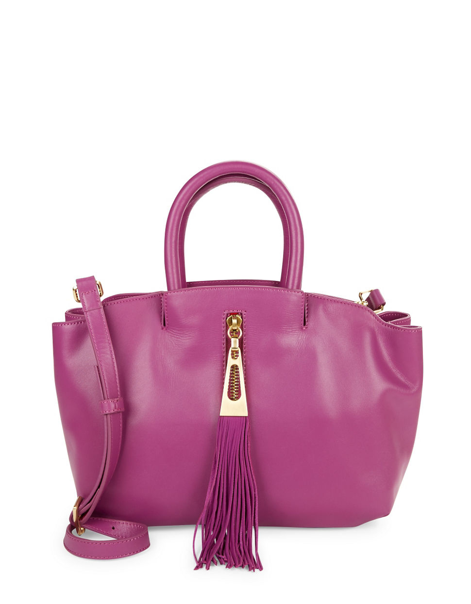 B Brian Atwood Haven Leather Satchel Lyst