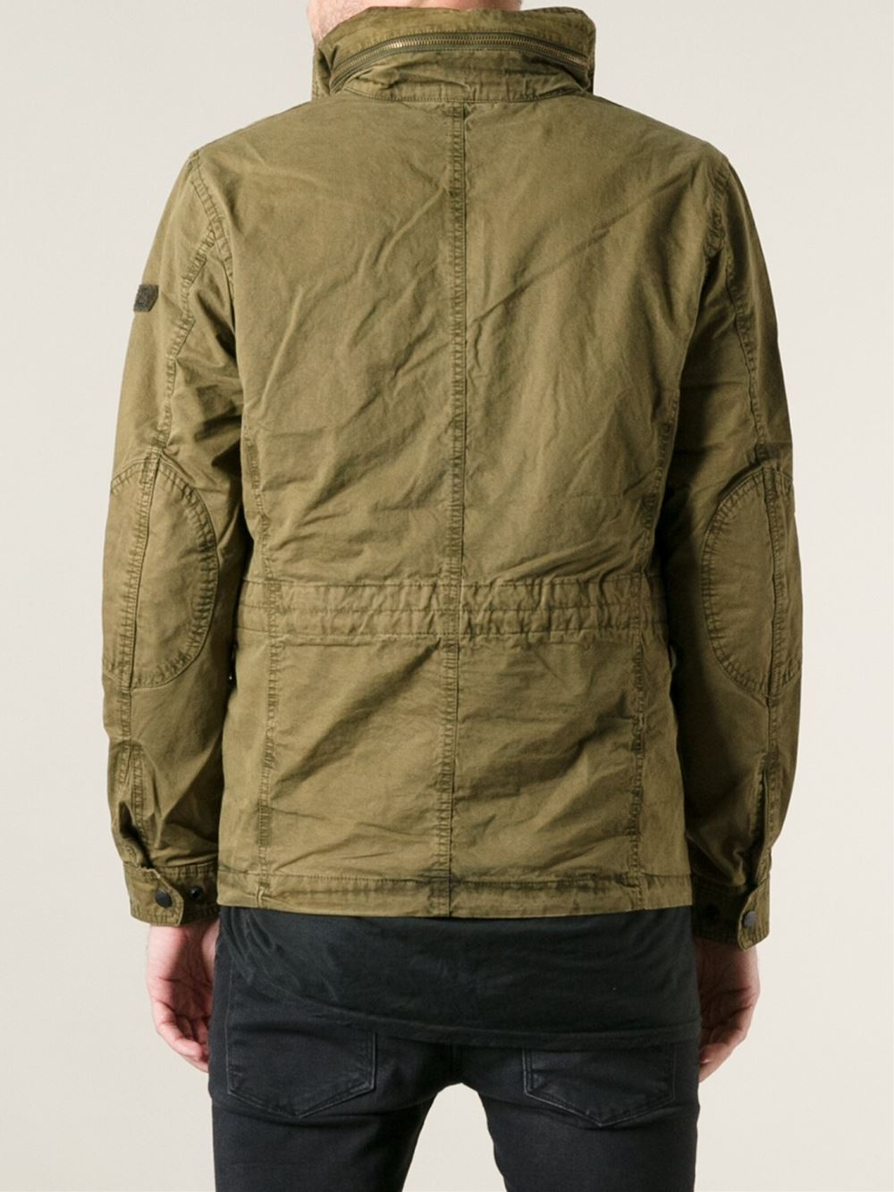 The military field jacket hasn't changed very much over the past 50 years since the M was introduced, save for a few extra style cues including colors, materials, and subtle changes that don't skew far from the original design.