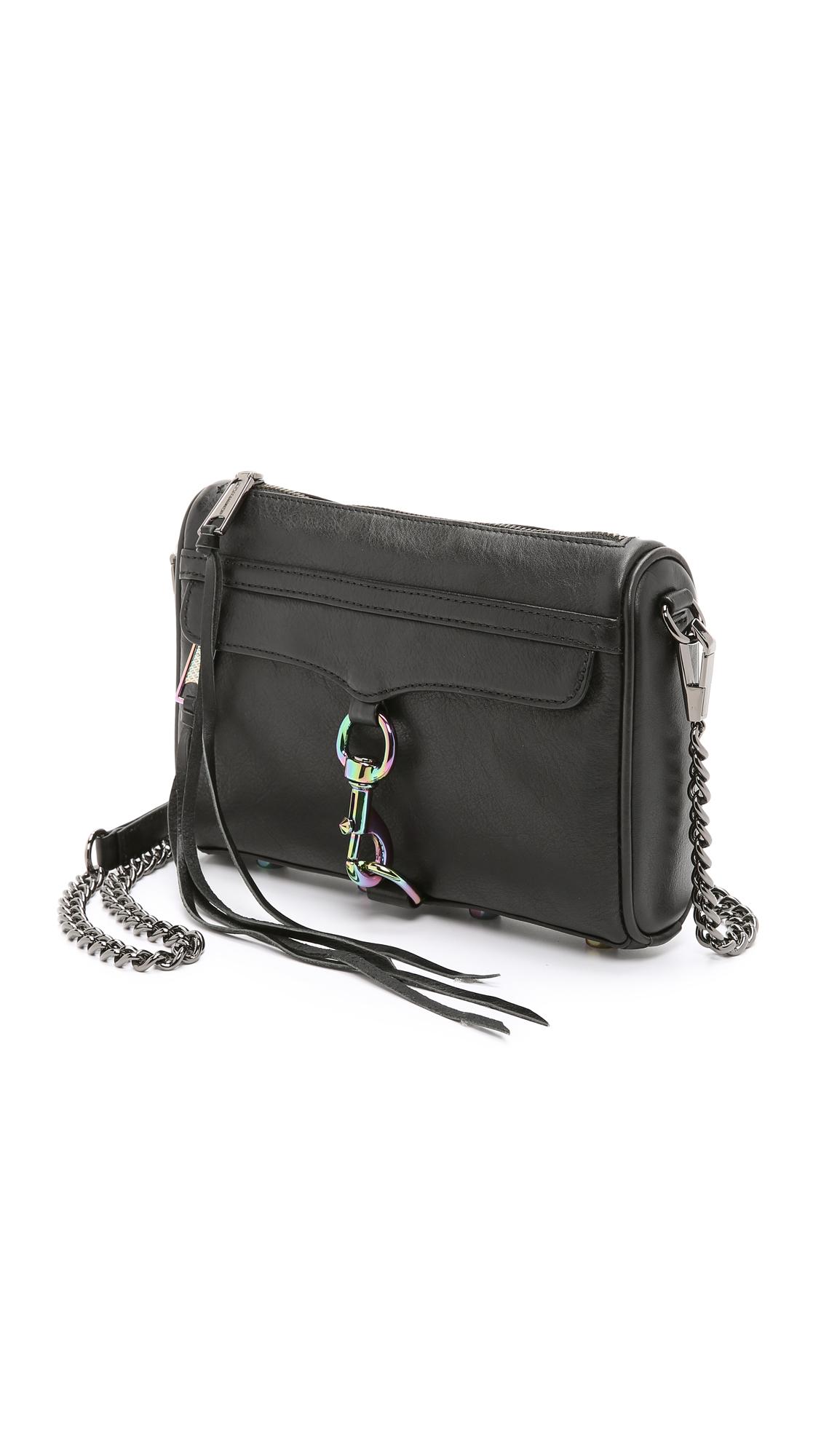 Rebecca minkoff 'm.a.c.' Mini Leather Crossbody Bag in ...