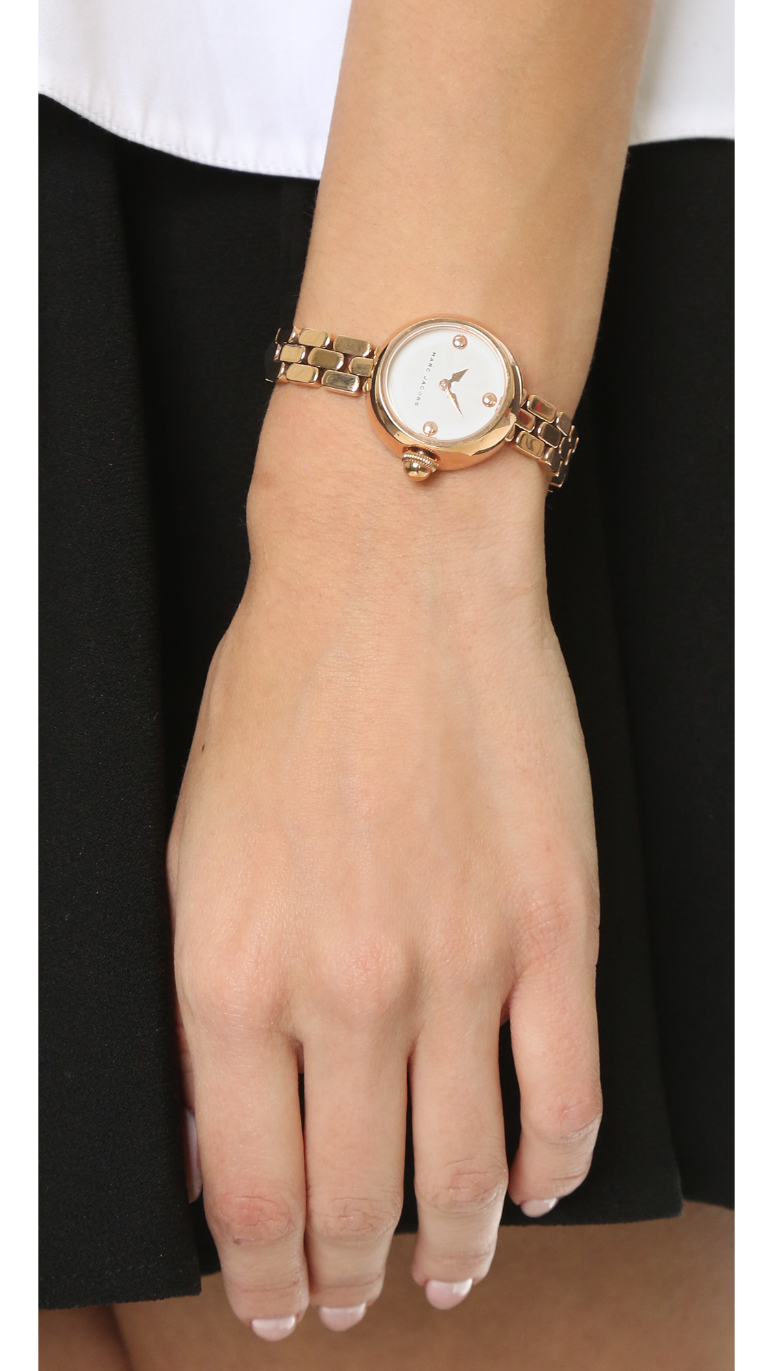 Marc jacobs Courtney Watch in Pink | Lyst