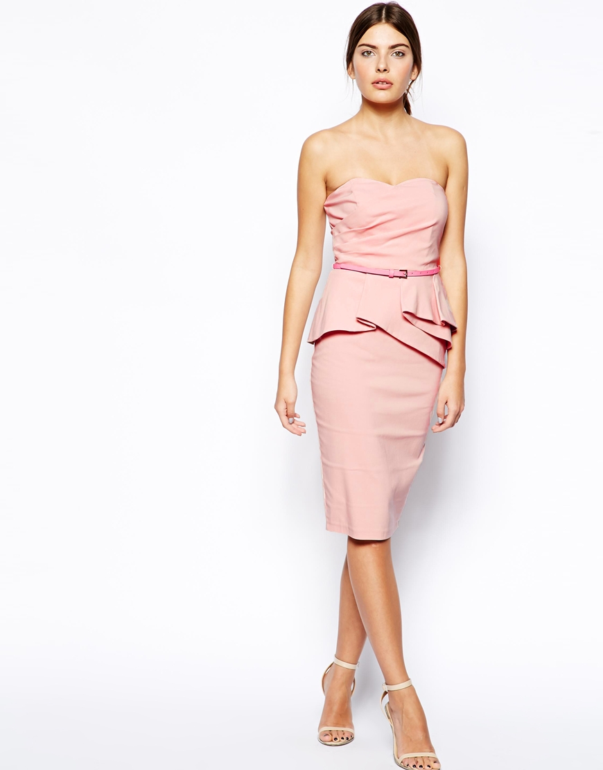 Pink Pencil Dress | Cocktail Dresses 2016