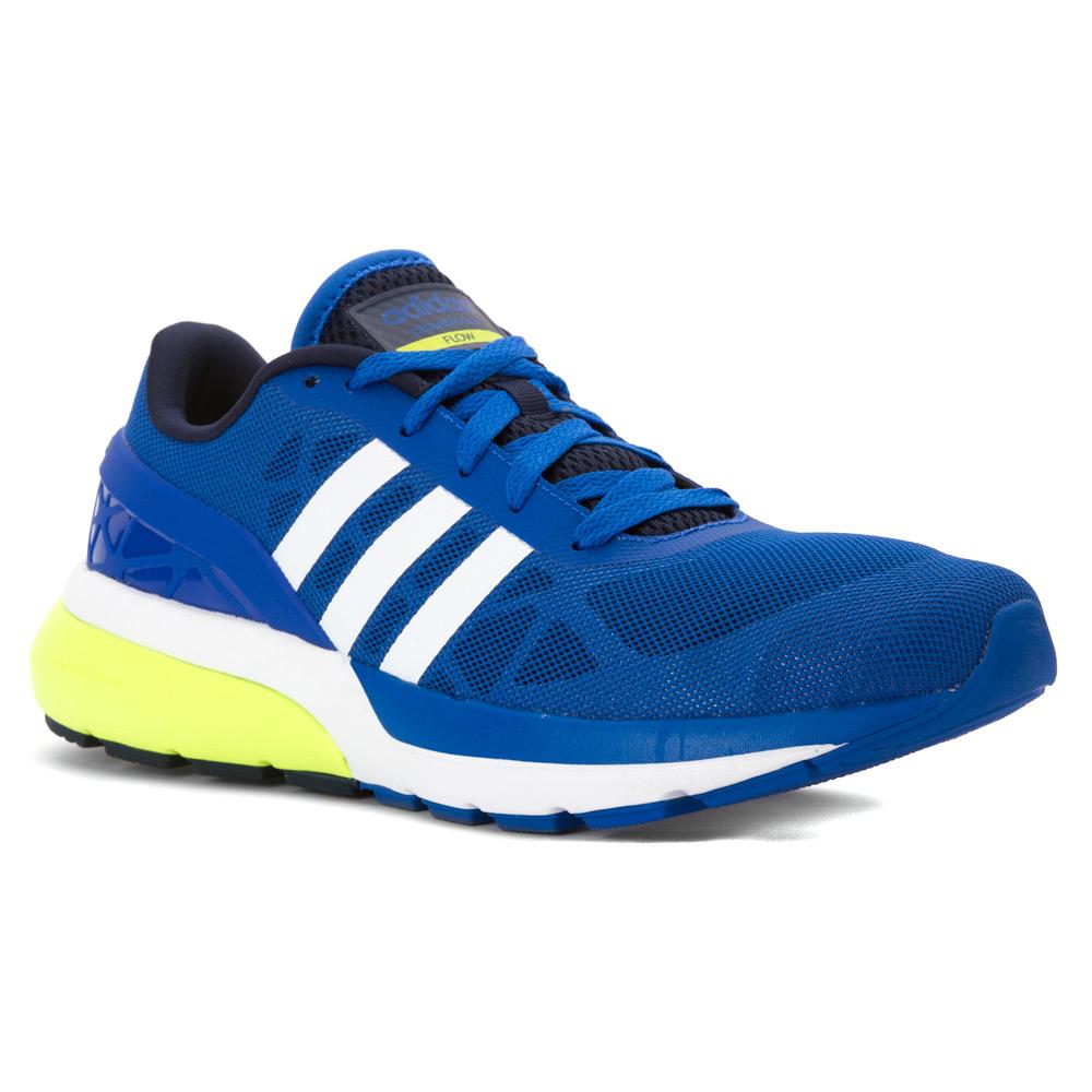 Blue Yellow Nike Running Shoes