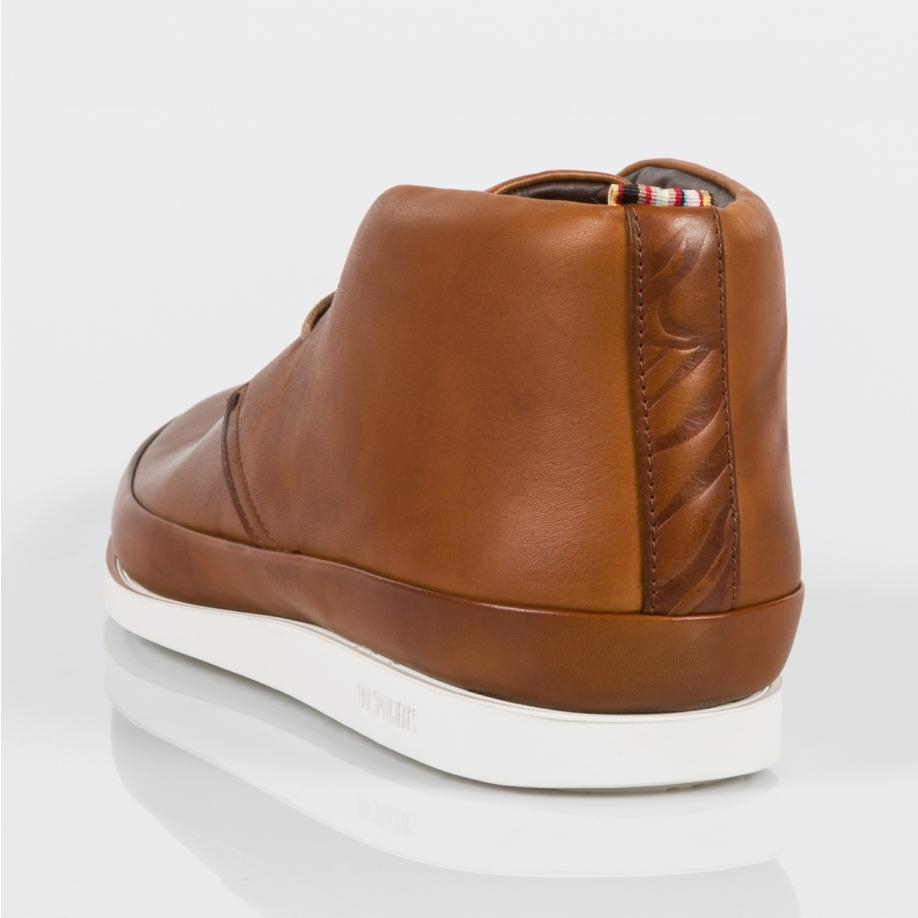 b36af2c3c6f Paul Smith Brown Men's Tan Leather 'loomis' Chukka Boots for men
