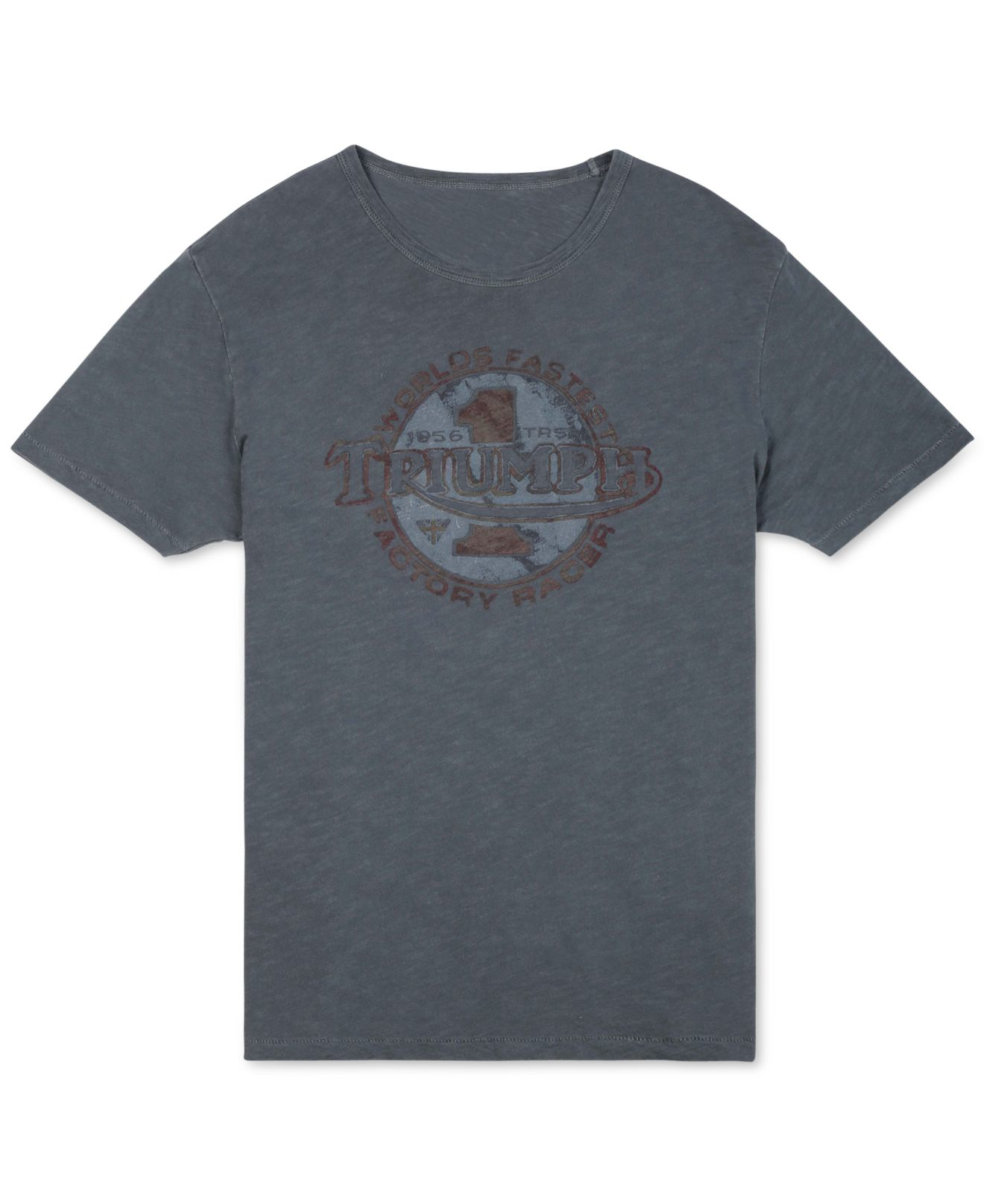 Lyst lucky brand triumph worlds fastest t shirt in blue for Lucky brand triumph shirt