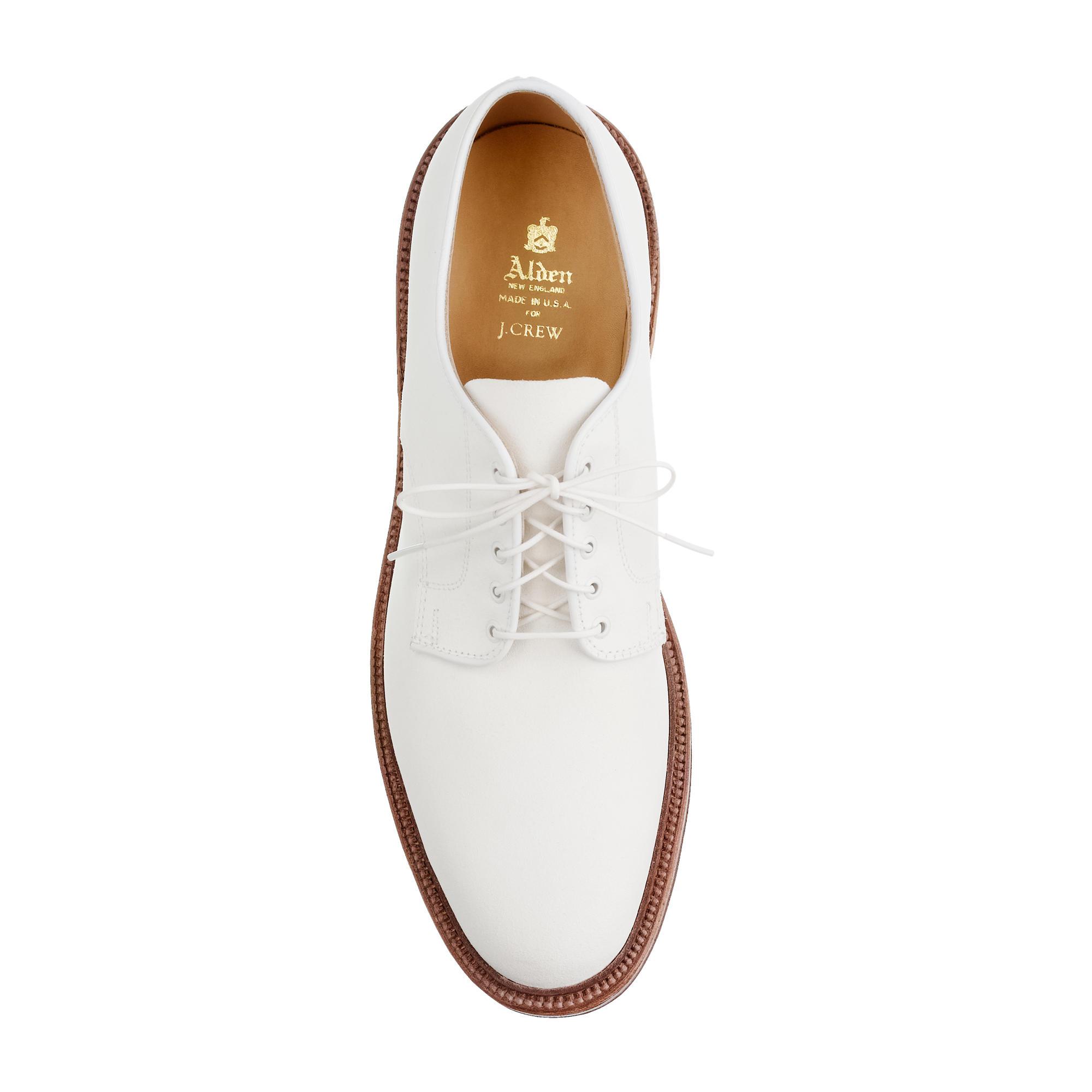 alden white bucks