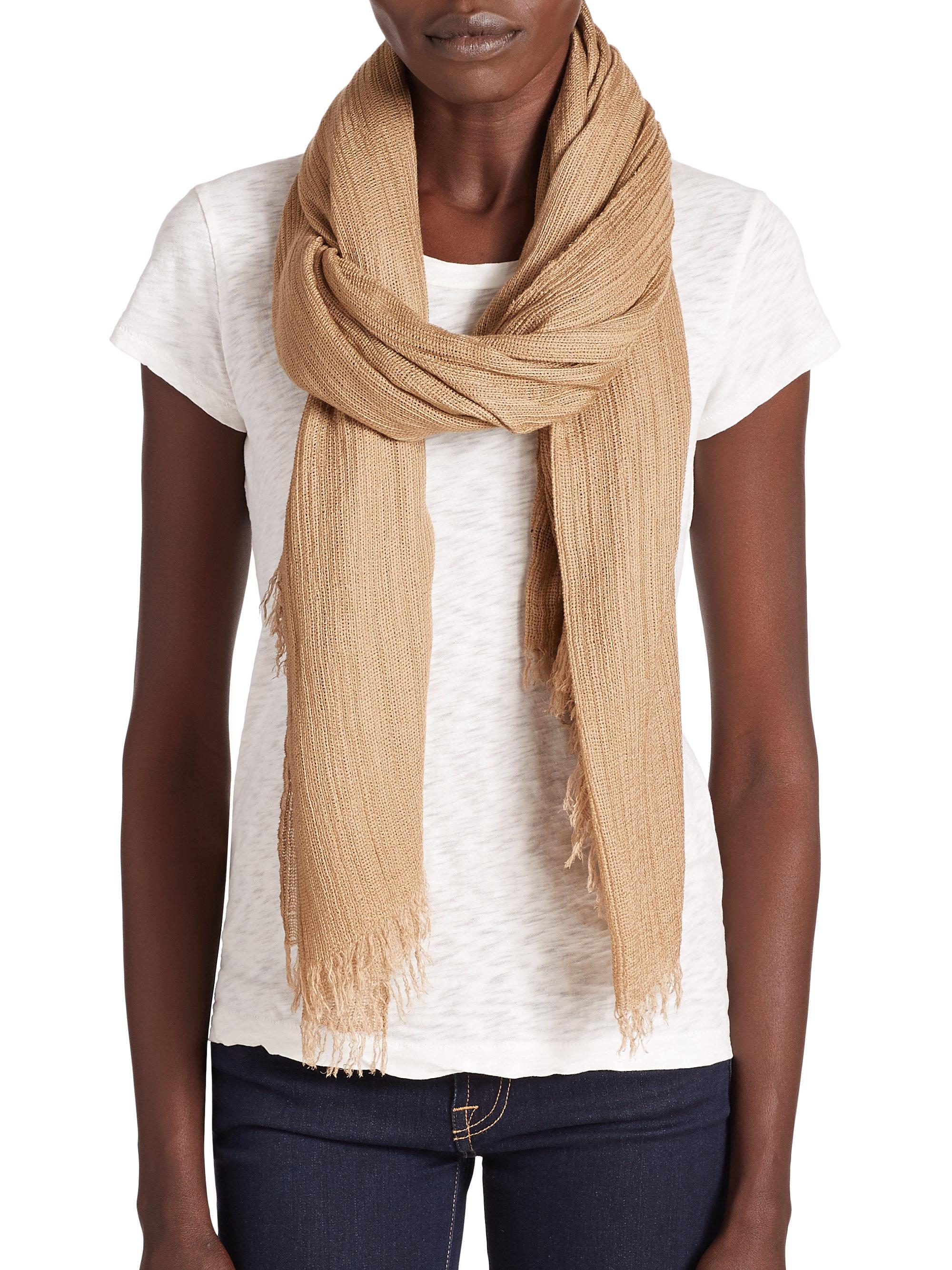 rag bone buckley woven scarf in lyst