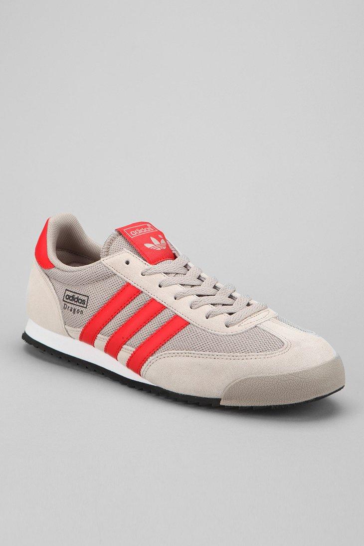 trabajo duro término análogo Inadecuado  adidas Dragon Sneaker in Silver (Red) for Men - Lyst