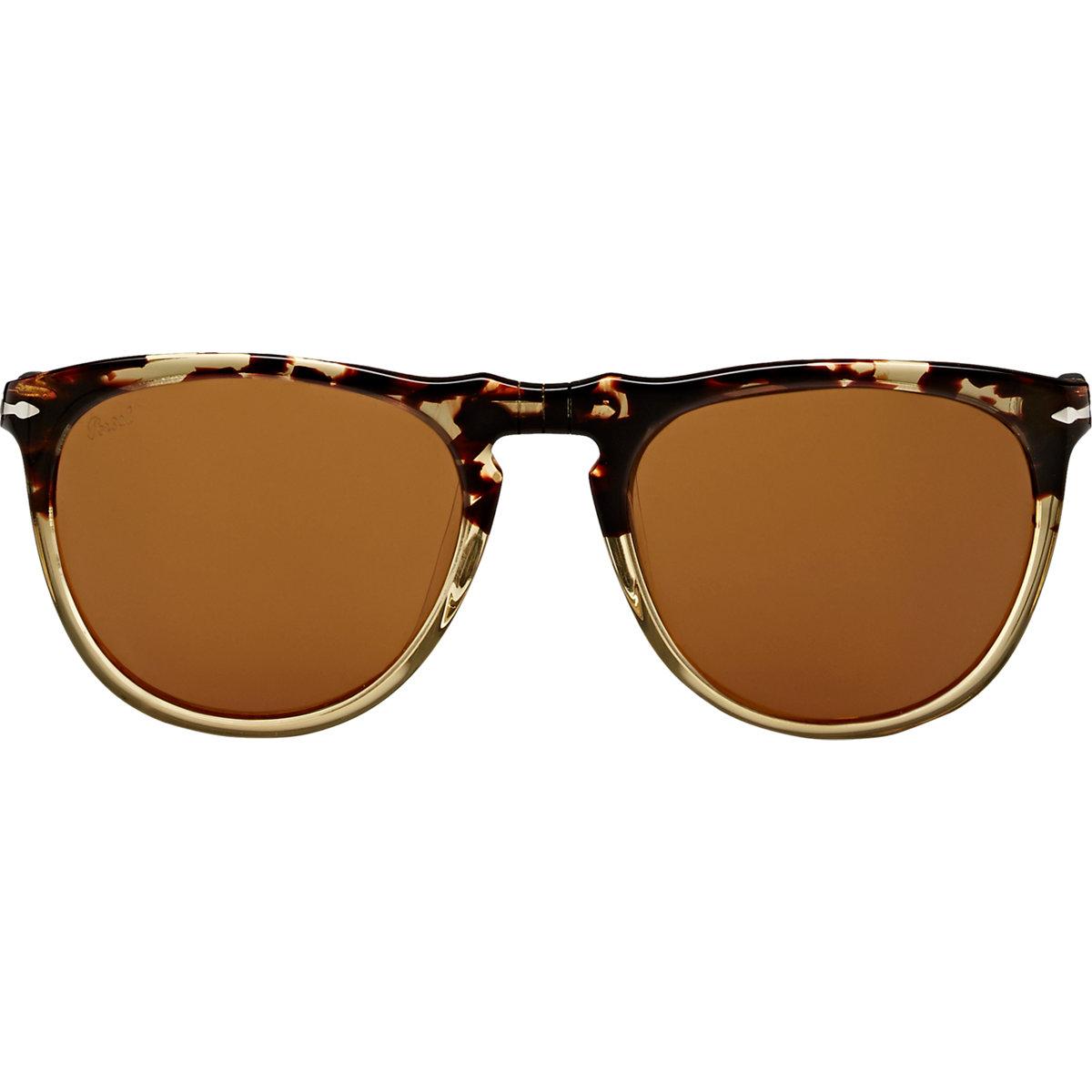 d196b2cd55 Lyst - Persol Suprema Sunglasses in Natural for Men