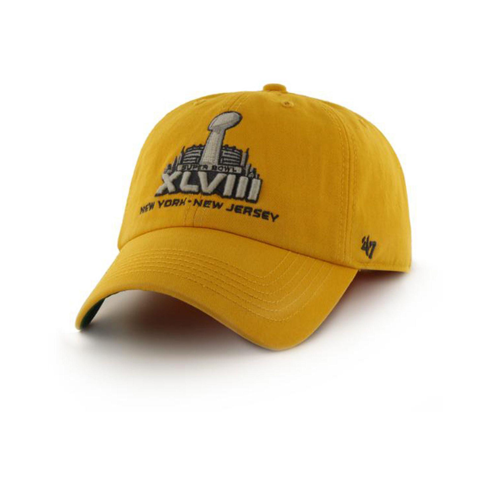7c1c56978c6de Lyst - 47 Brand Super Bowl Xlviii 47 Franchise Cap in Yellow for Men