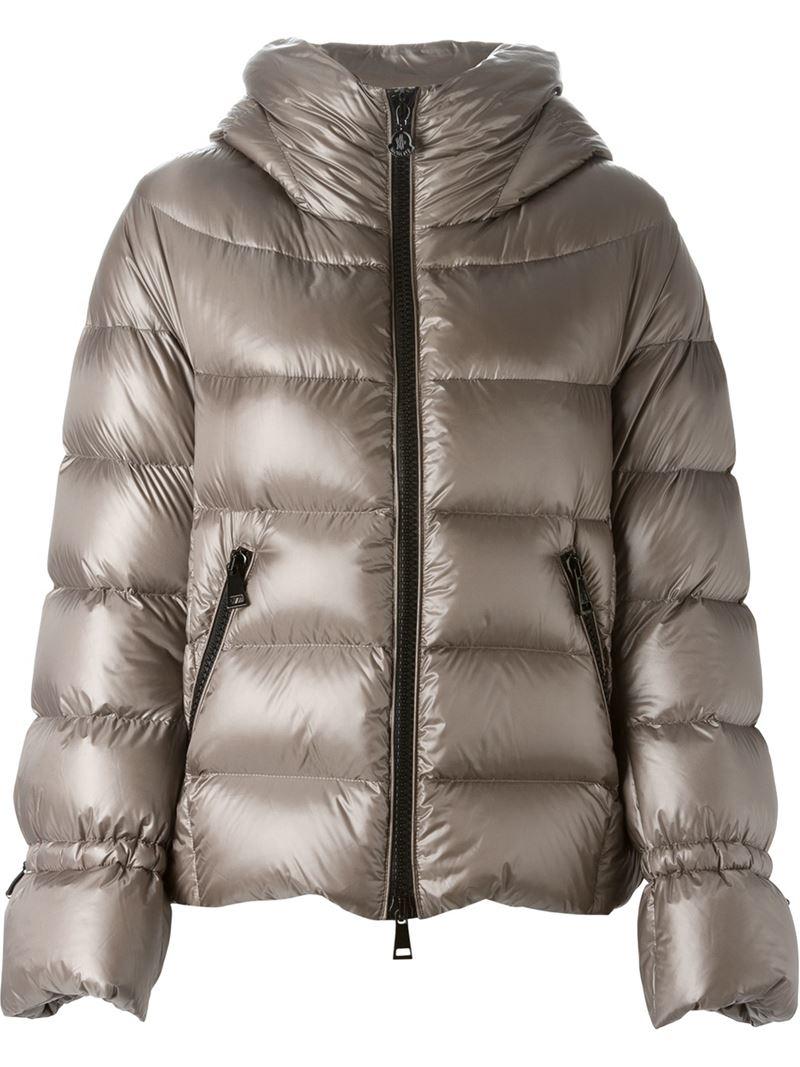 Lyst Moncler Badete Padded Jacket In Metallic