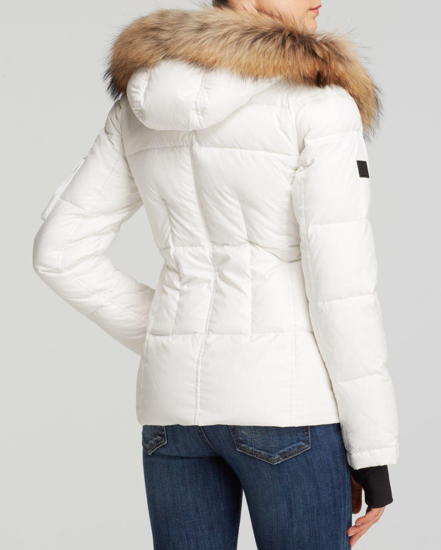 592577e56 Sam. White Blake Short Down Jacket
