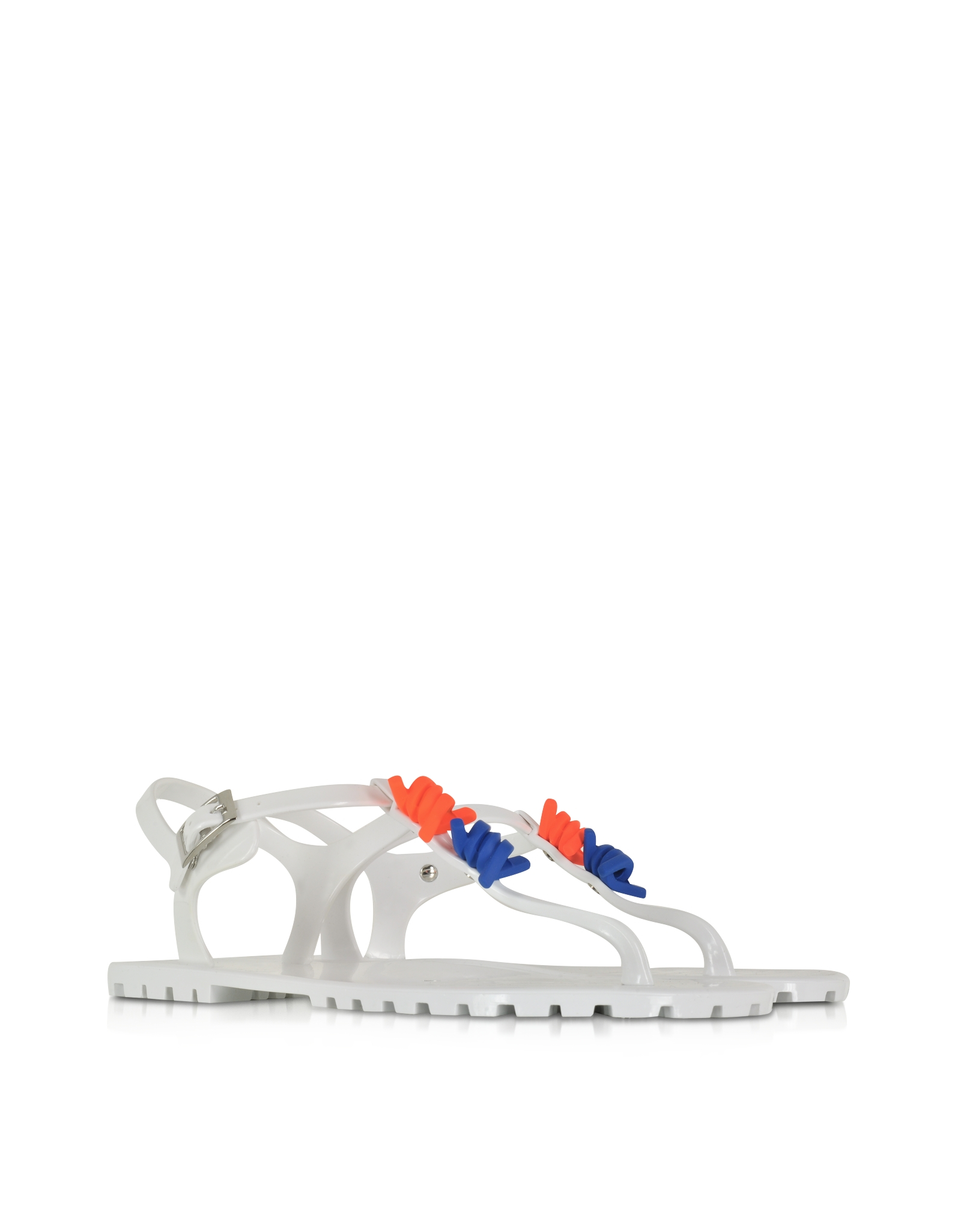 how to clean white rubber sandals