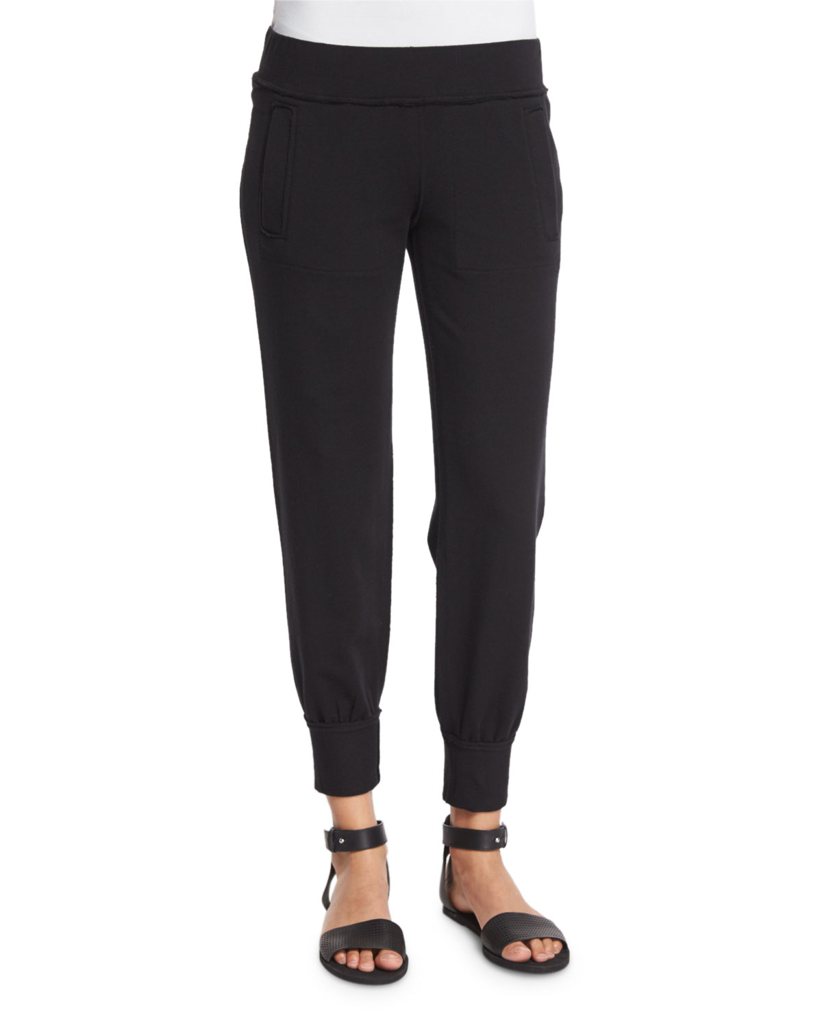 Perfect Uniqlo Women Jogger Pants In Black  Lyst