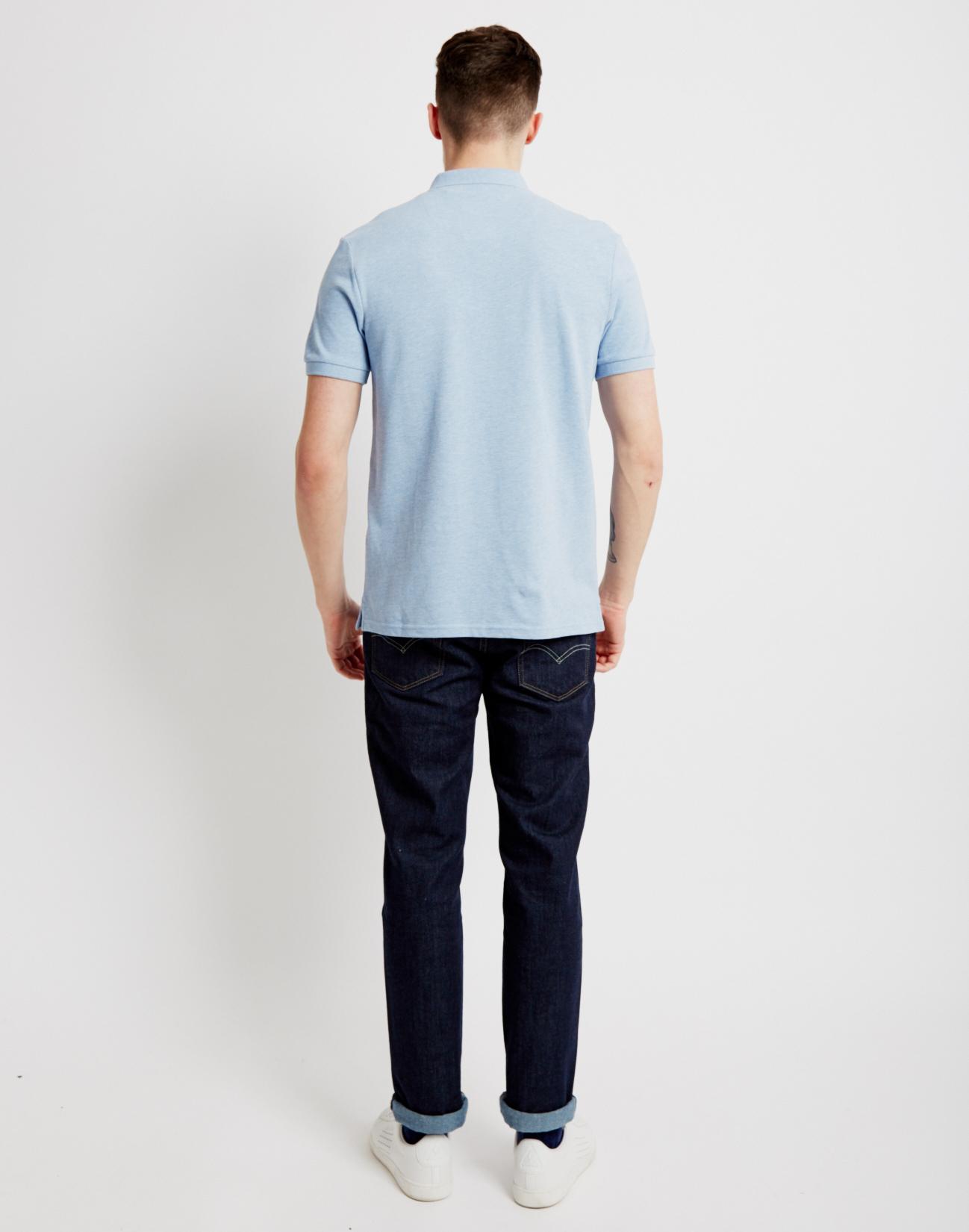 Lyle Amp Scott Polo Shirt Light Blue In Blue For Men Lyst