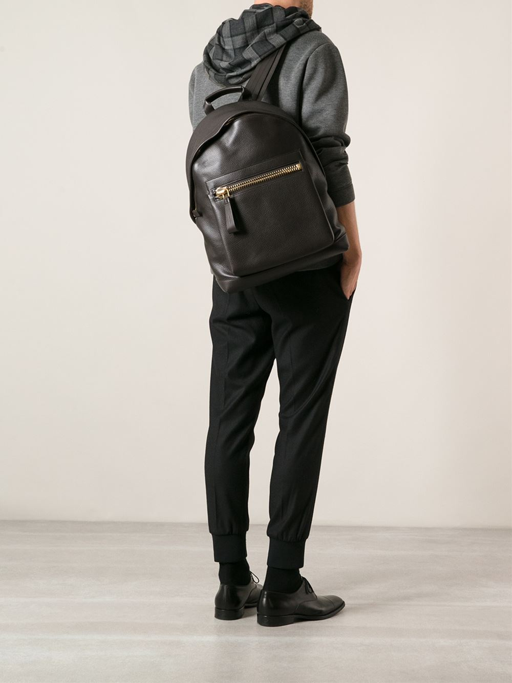 Lyst Tom Ford Buckley Backpack In Brown For Men