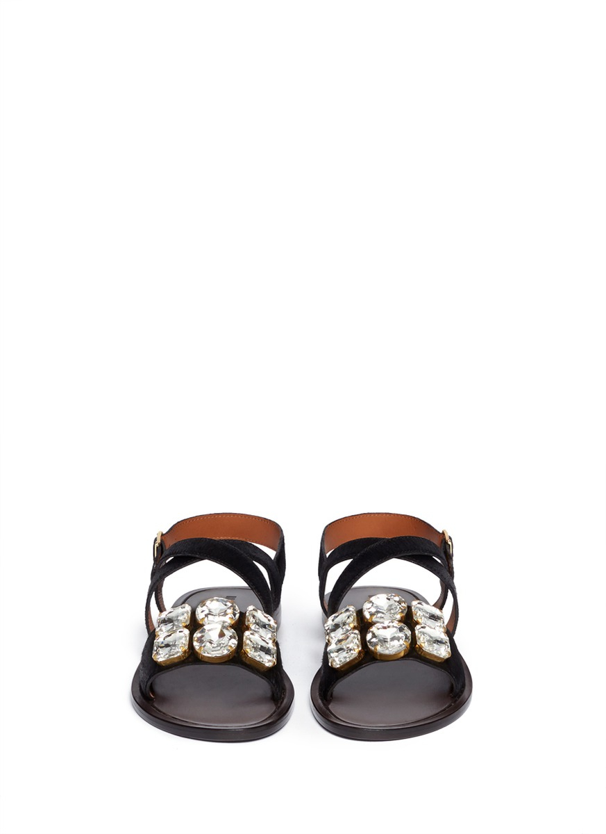 Marni Ponyhair Jeweled Sandals visit new sale online cheap sale the cheapest with credit card online cheap sale visit 03PEGP8v