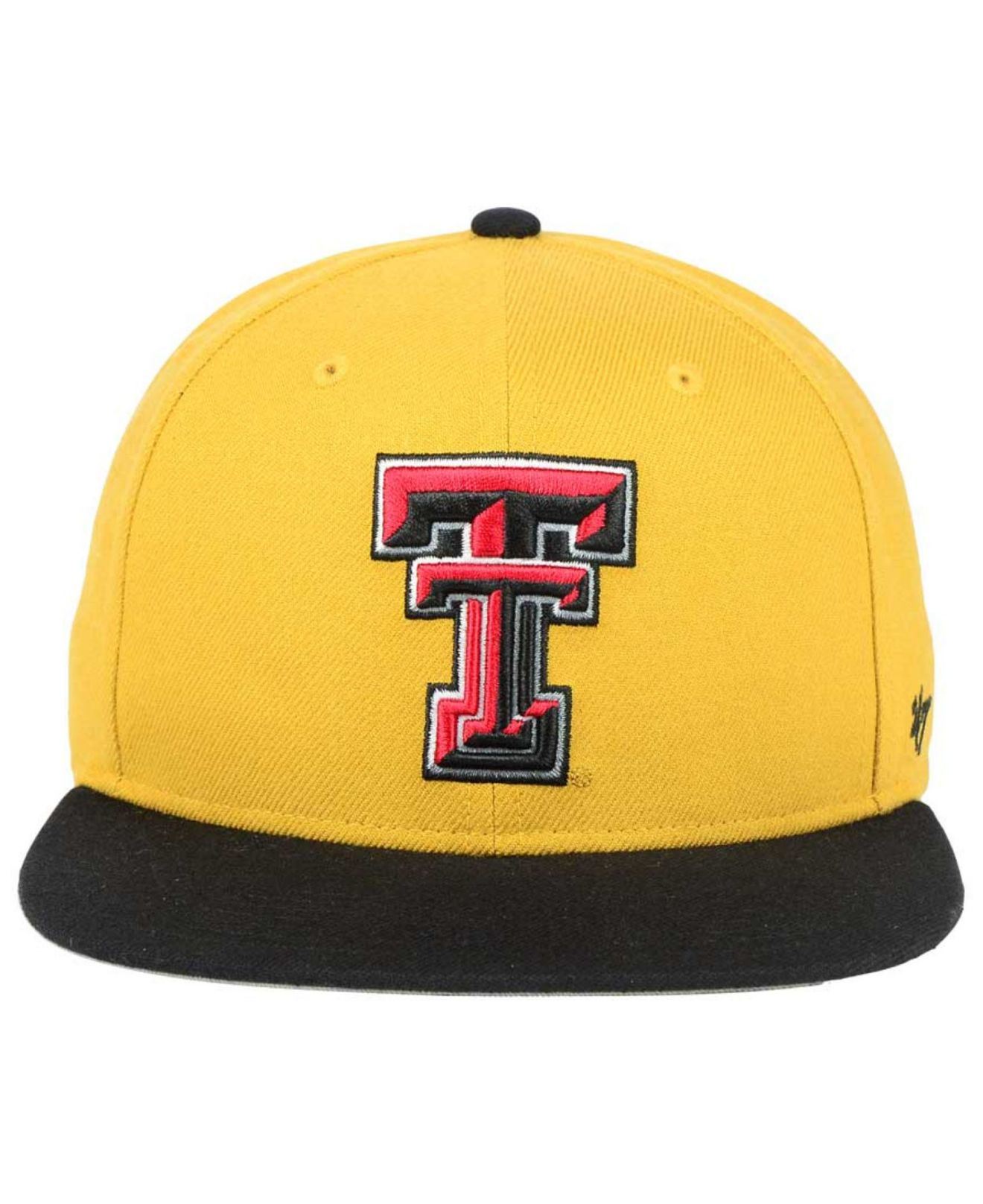 023ab083122 Lyst - 47 Brand Texas Tech Red Raiders Sure Shot Snapback Cap in ...