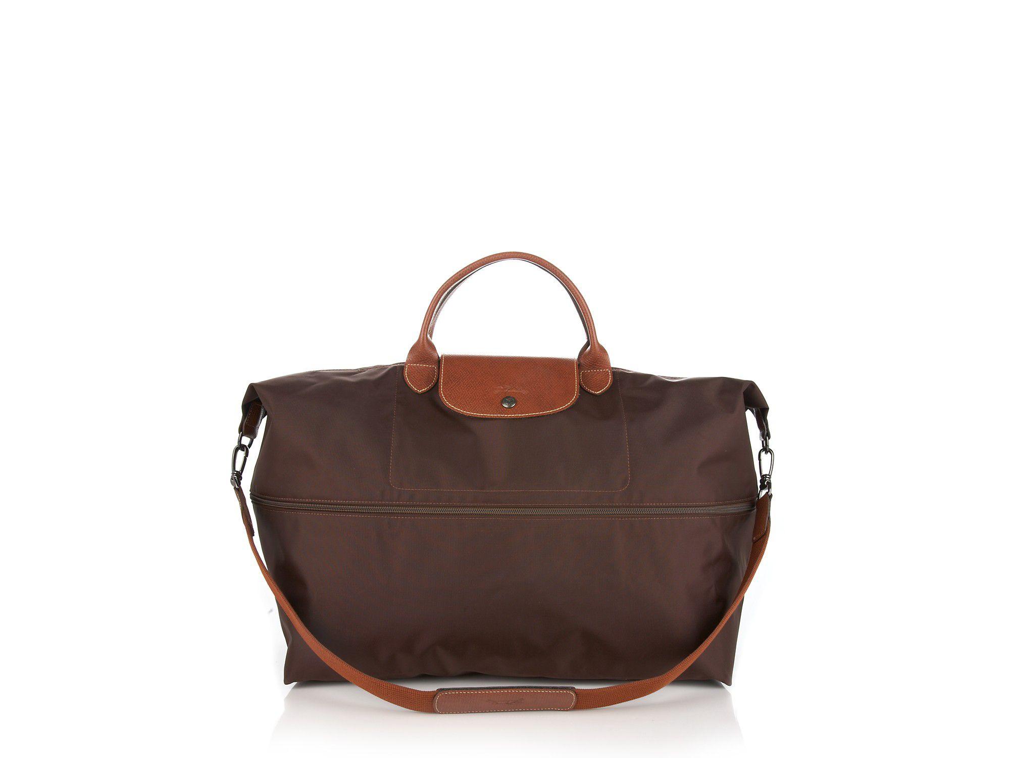Longchamp Le Pliage Expandable Travel Duffel Tote Sale