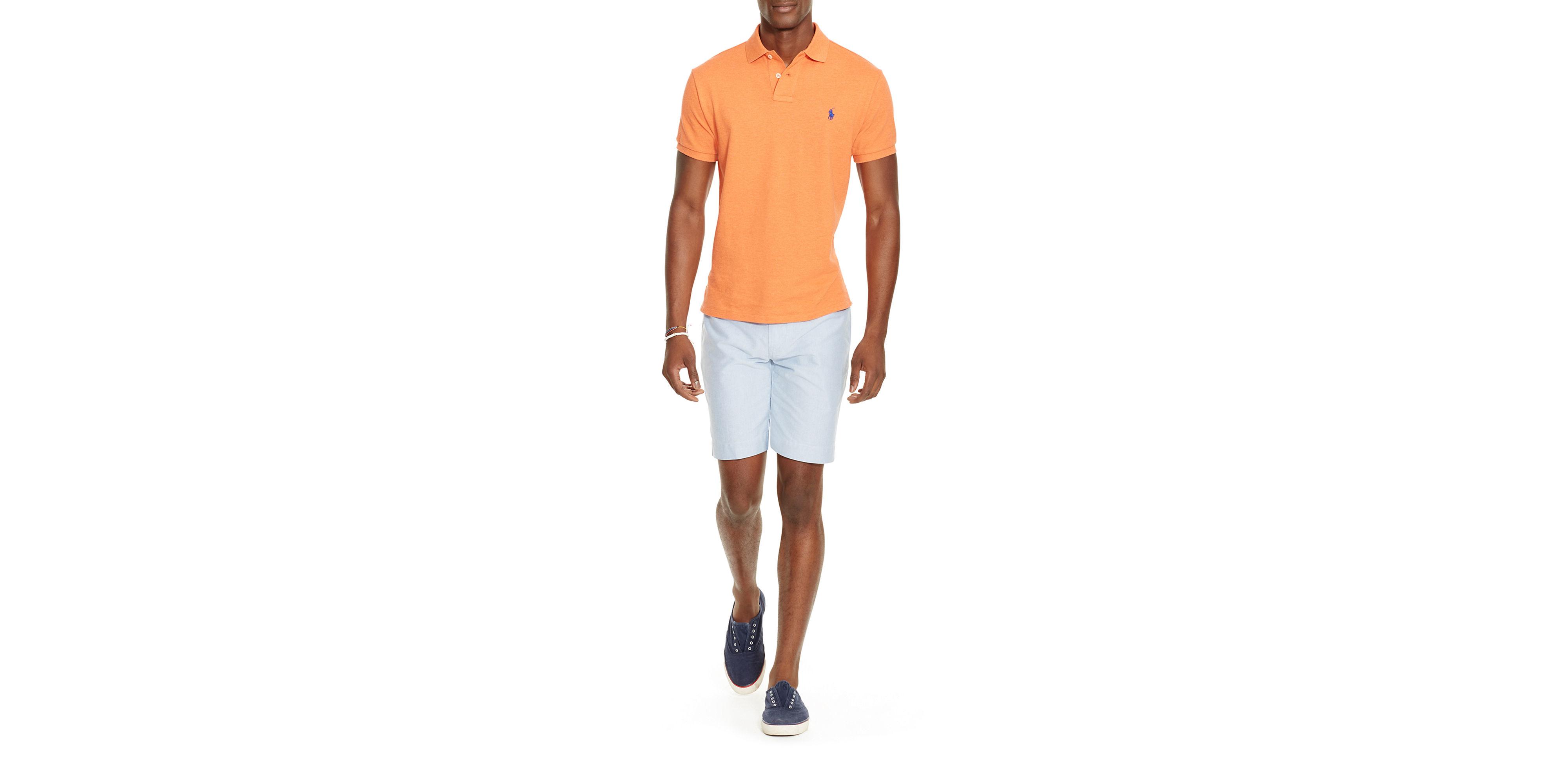 Polo Ralph Lauren | Pink Slim-fit Mesh Polo Shirt for Men | Lyst. View Fullscreen