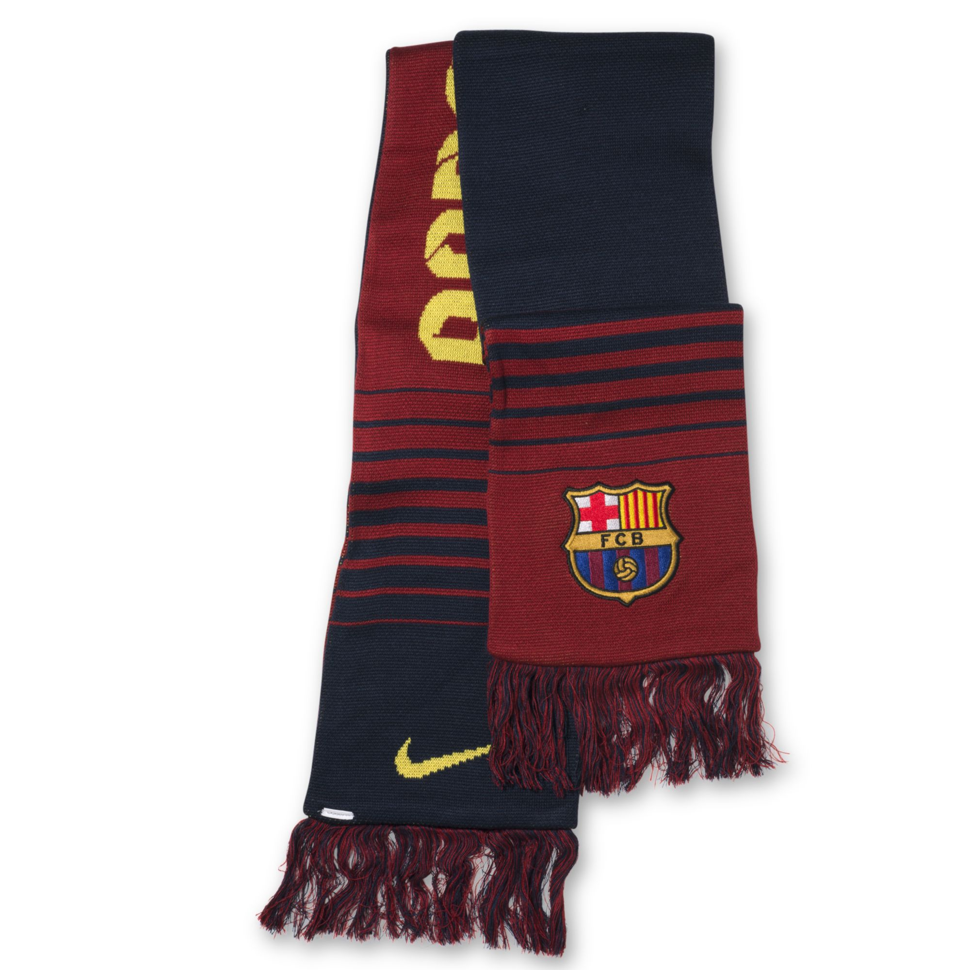 nike fcb supporters scarf in blue for navy lyst