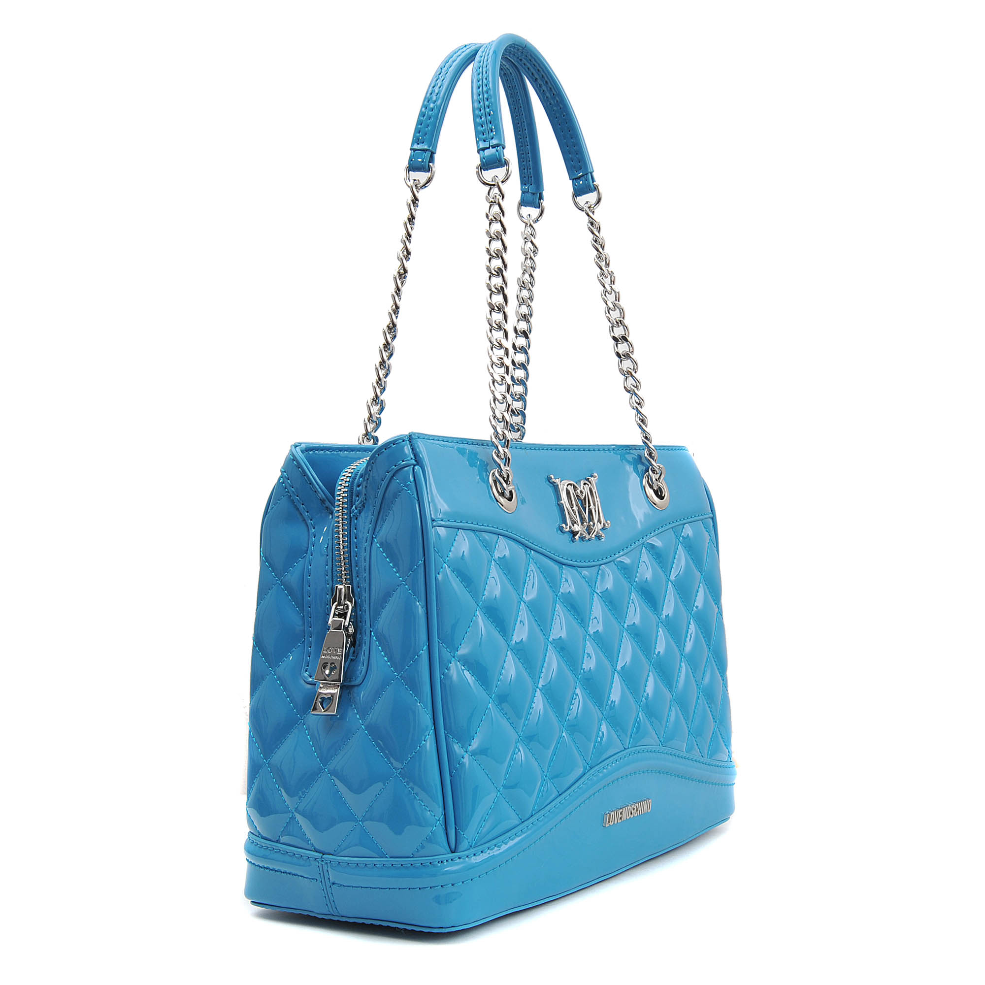 Love Moschino Super Quilted Flap Over Shoulder Bag 57