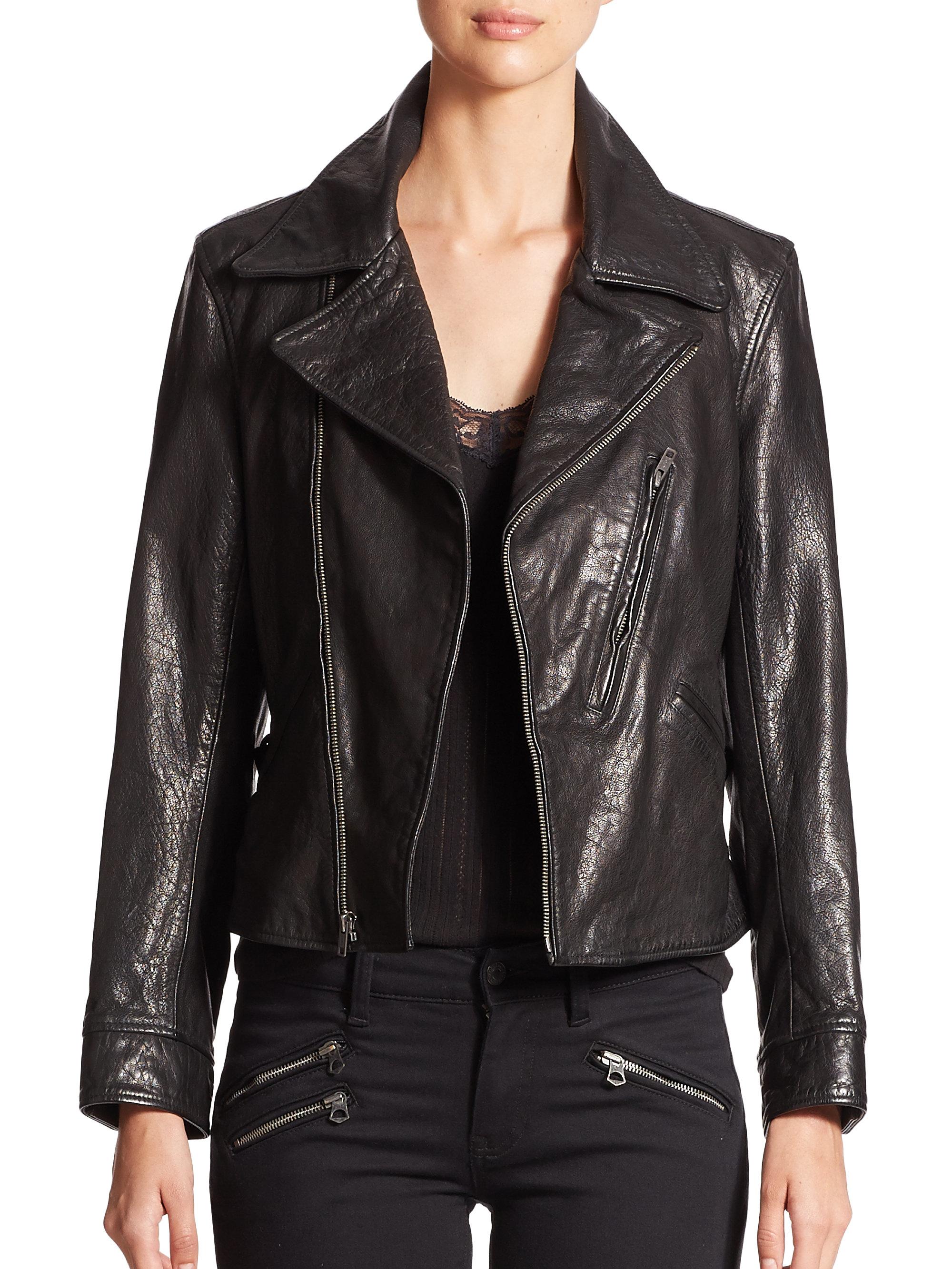 Ralph lauren polo leather jacket