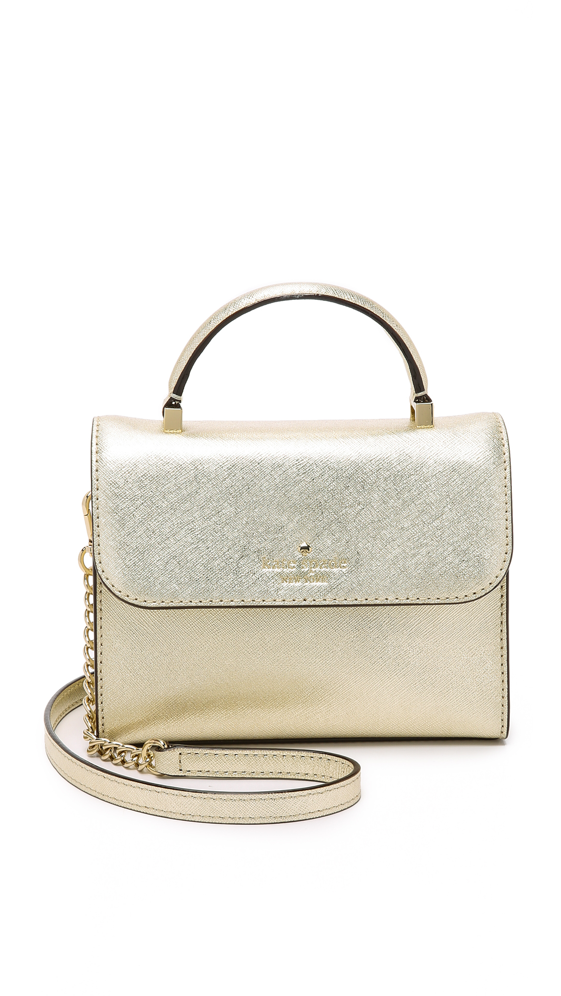 Mini Nora Cross Body Bag Gold