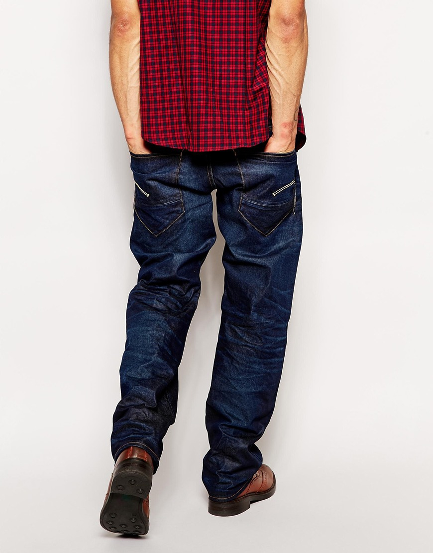 competitive price sale competitive price G Star Jeans New Radar Low Loose Dark Aged