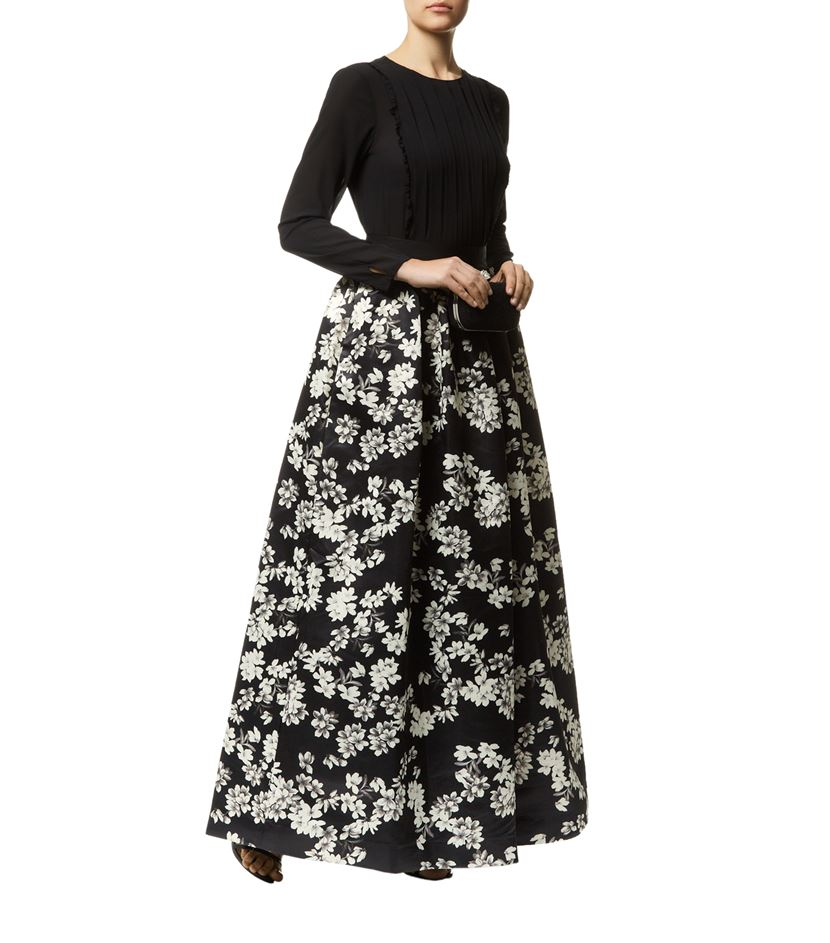 Alice   olivia Tina Long Ball Gown Skirt | Lyst