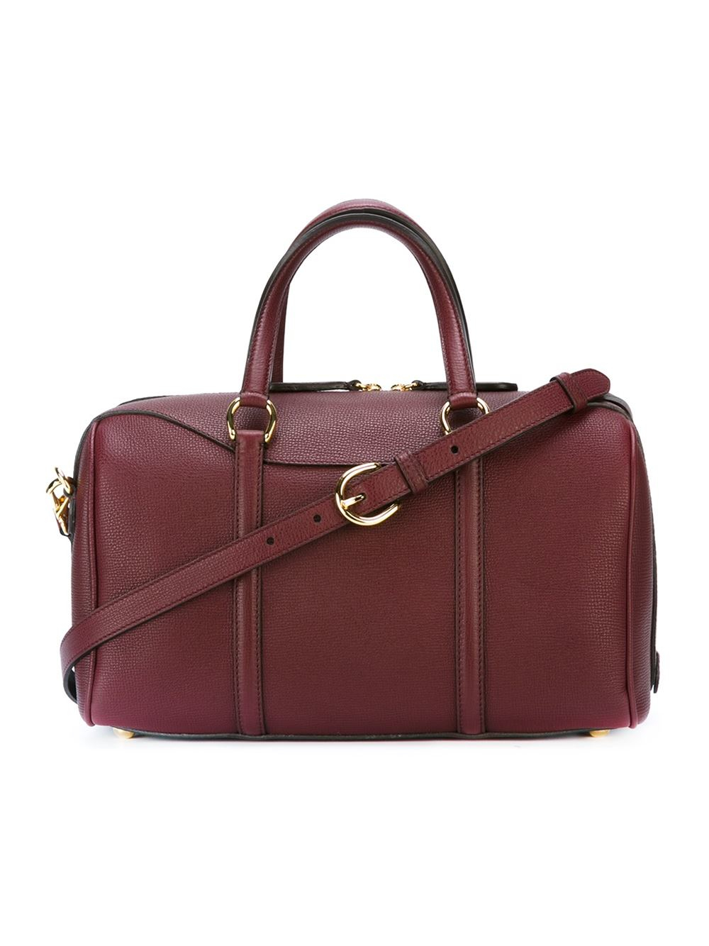 burberry alchester tote bag in red lyst
